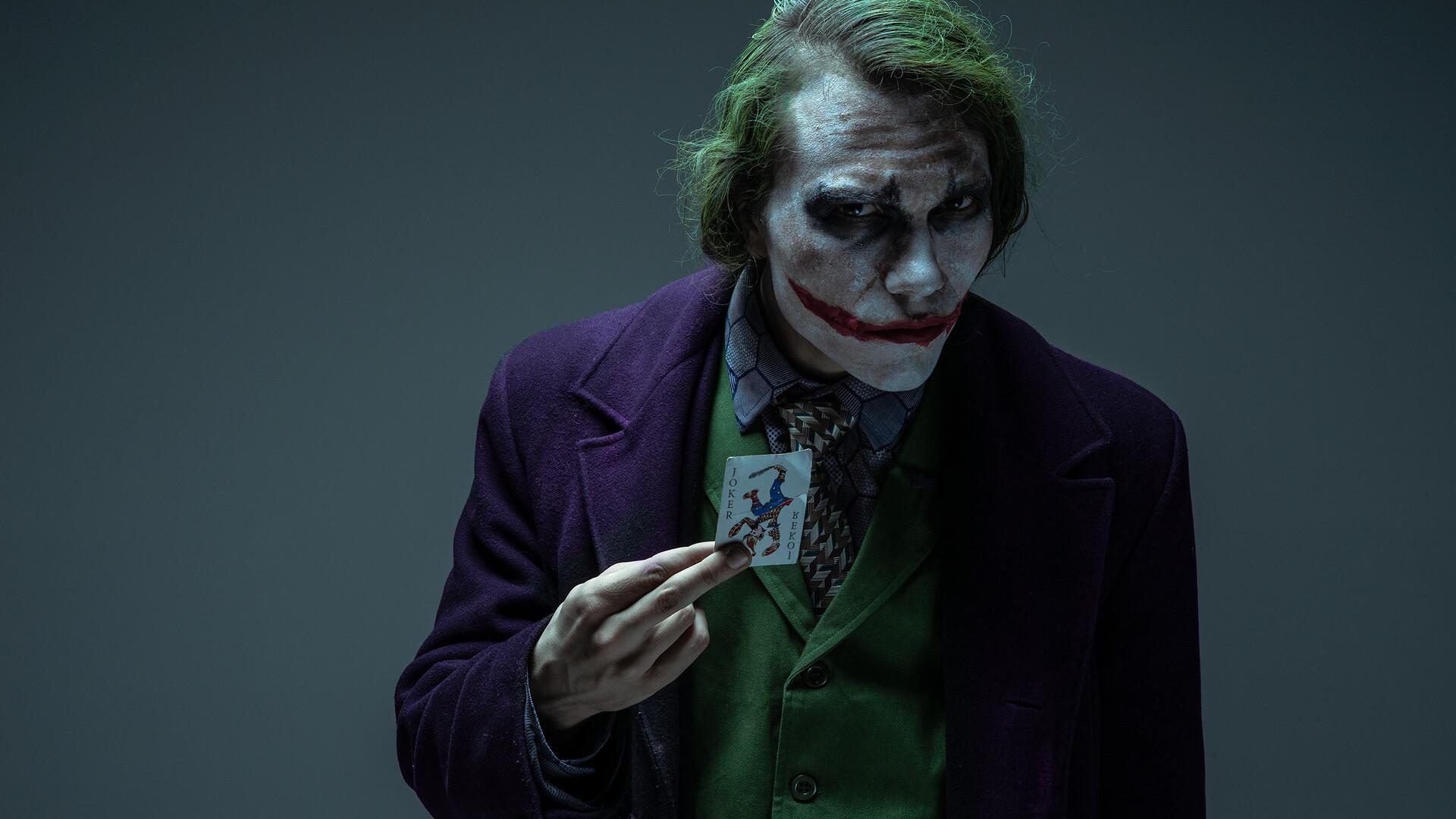 1920x1080 Joker Cosplays Laptop Full Hd 1080p Hd 4k