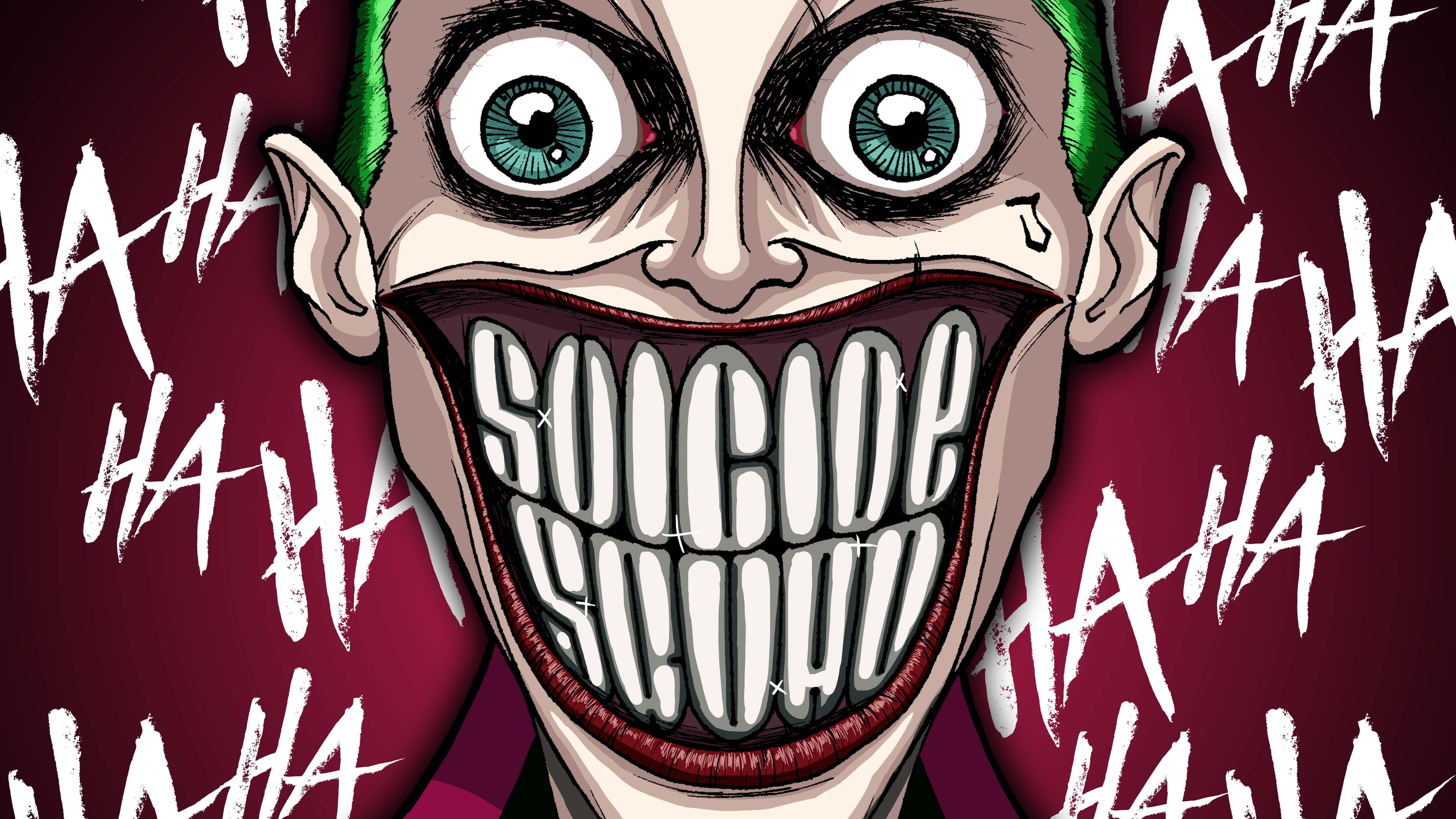 3840x2160 Joker Damaged 5k 4k HD 4k Wallpapers, Images, Backgrounds