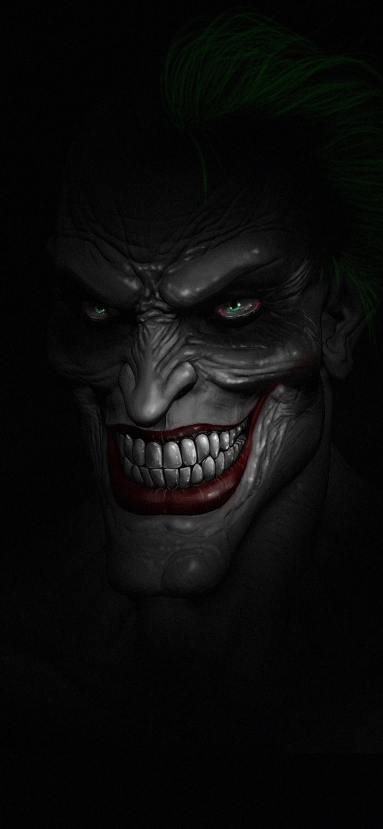 1242x2688 Joker Dark Minimalist Iphone Xs Max Hd 4k Wallpapers