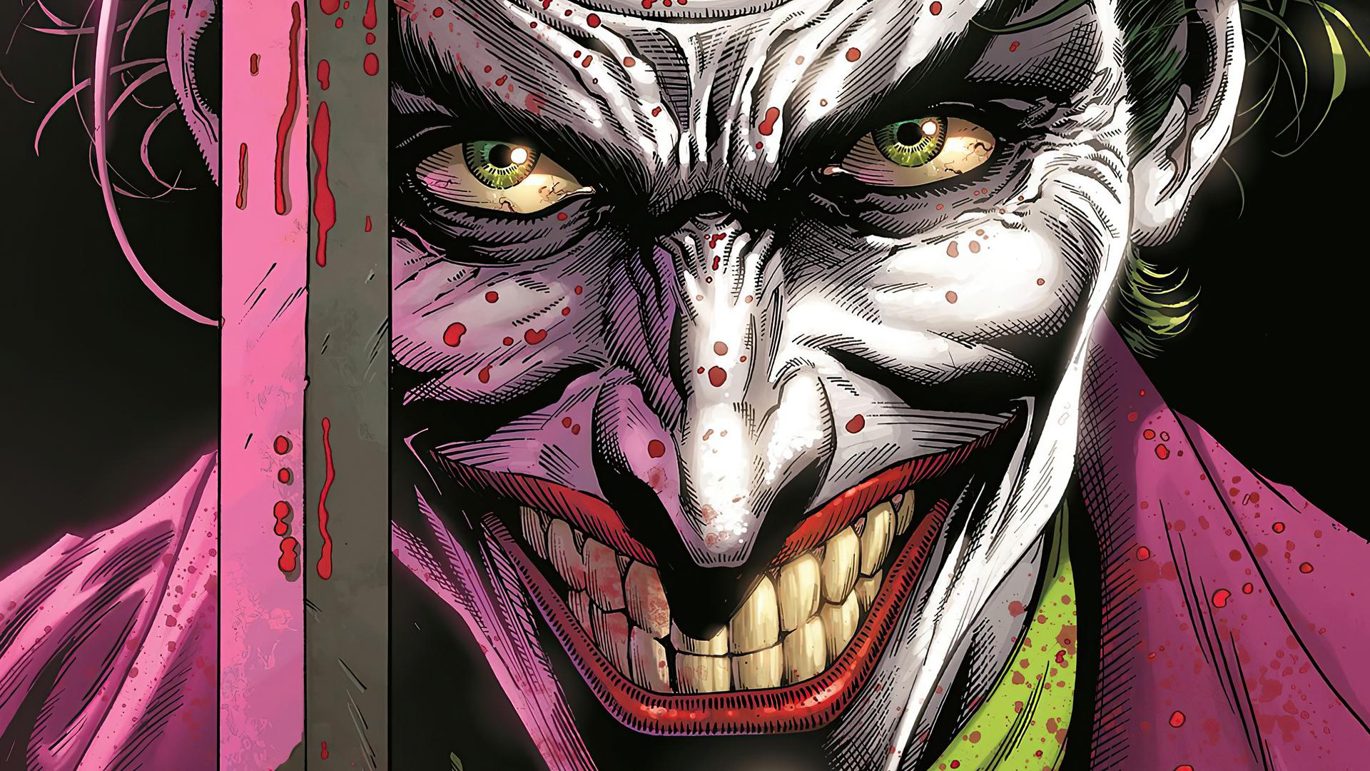 1920x1080 Joker Devil Smile 4k Laptop Full HD 1080P HD 4k ...