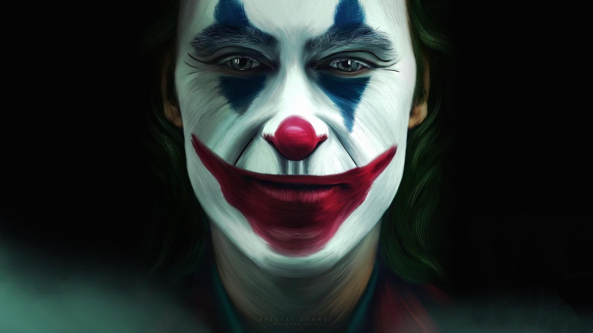 1920x1080 Joker Face Makeup Laptop Full HD 1080P HD 4k ...