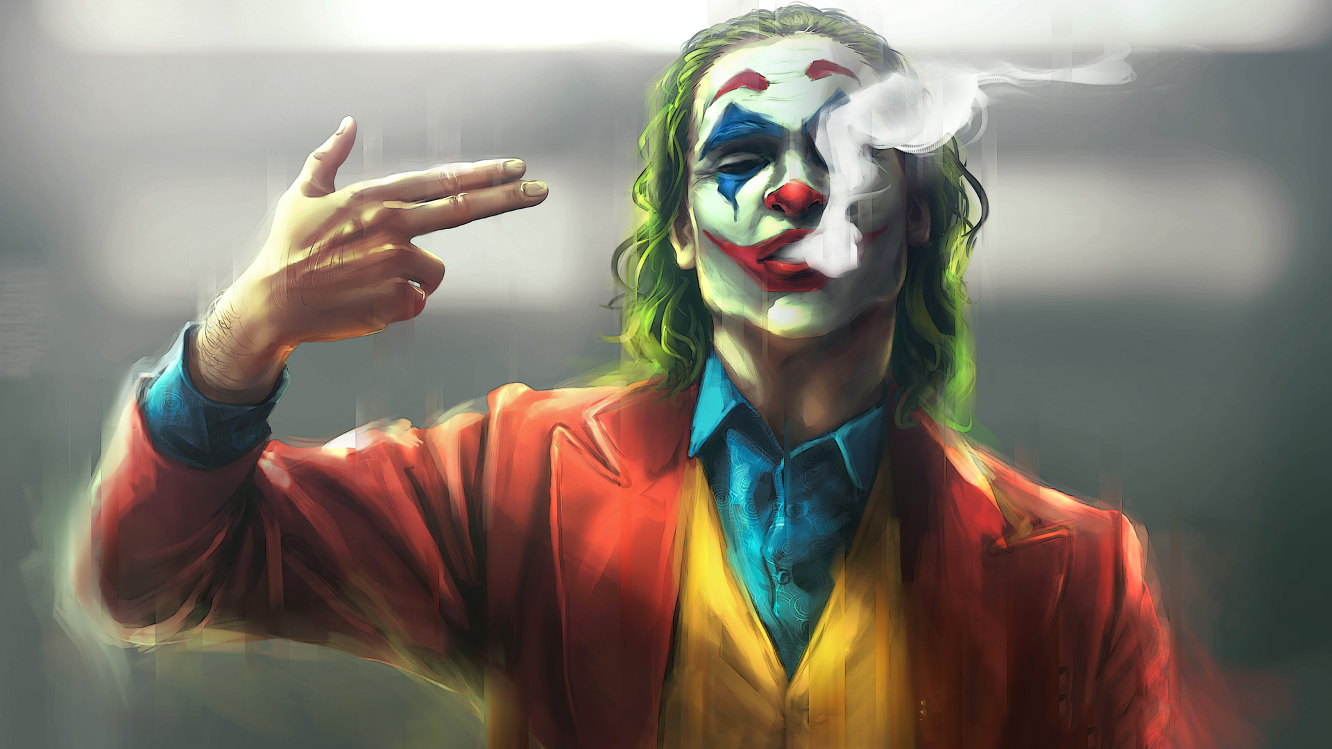 1920x1080 Joker Finger Gun Shot Laptop Full Hd 1080p Hd 4k Wallpapers Images Backgrounds Photos And Pictures