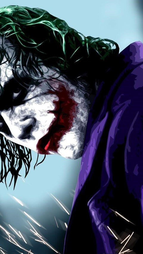 480x854 Joker HD Android One 4k Wallpapers Images Backgrounds