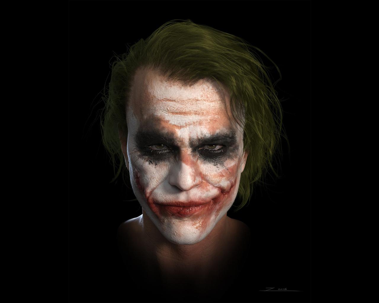 1280x1024 Joker Heath Ledger 4k Art 1280x1024 Resolution ...