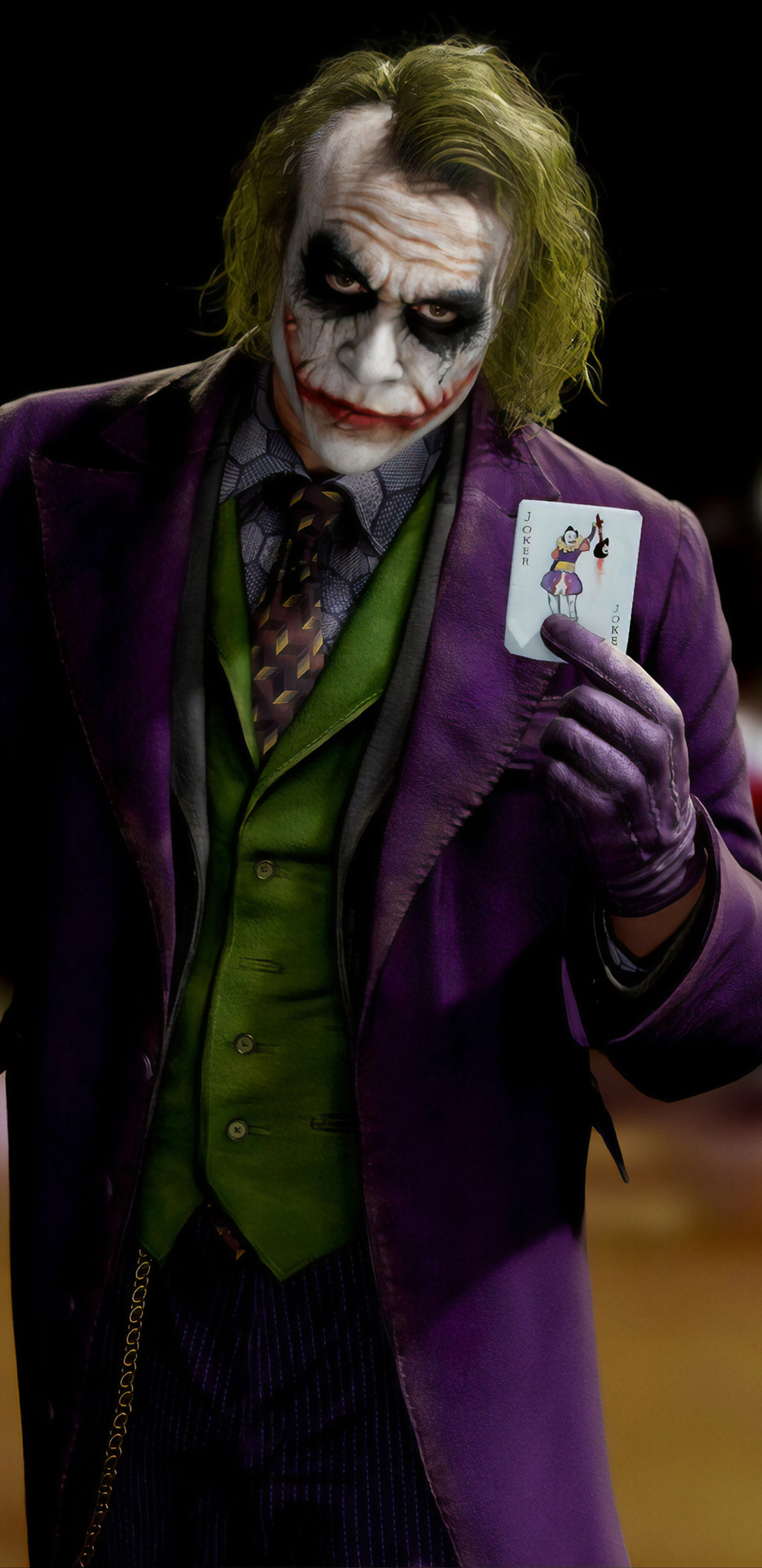 1440x2960 Joker Heath Ledger Flip It 4k Samsung Galaxy ...