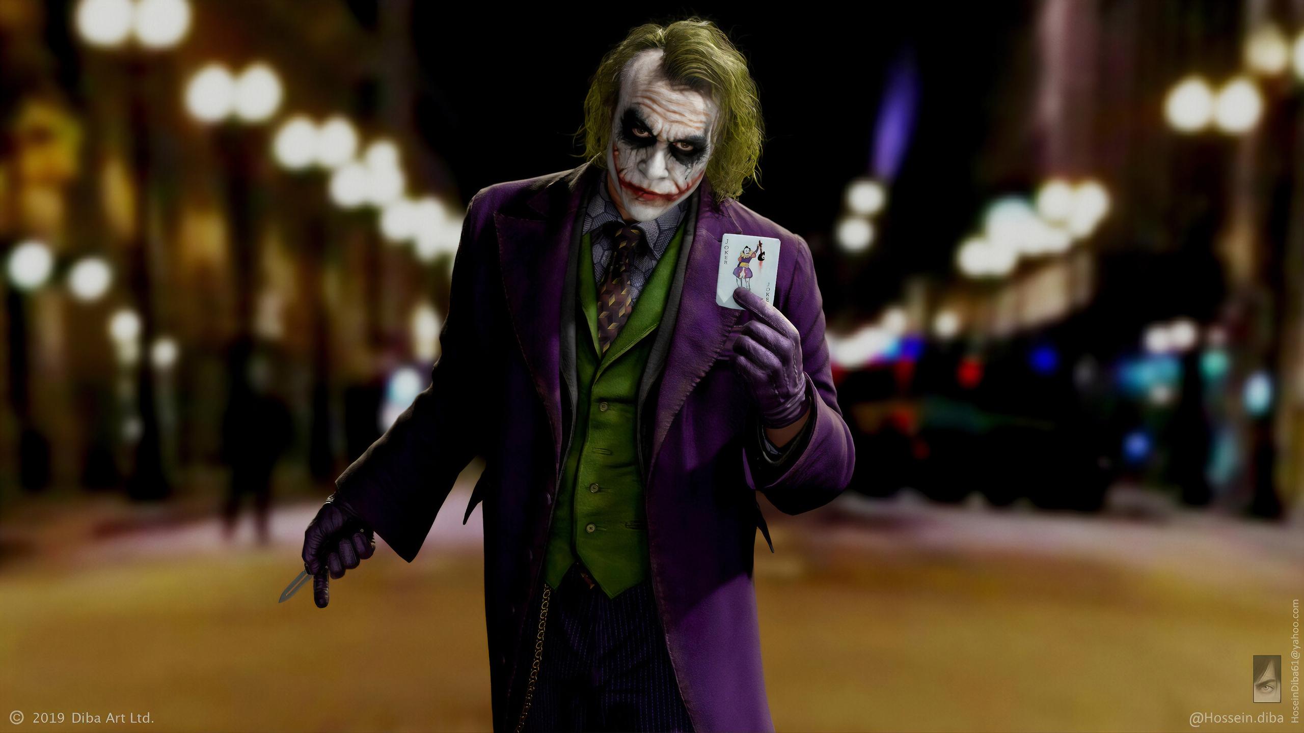2560x1440 Joker Heath Ledger Flip It 4k 1440p Resolution Hd 4k