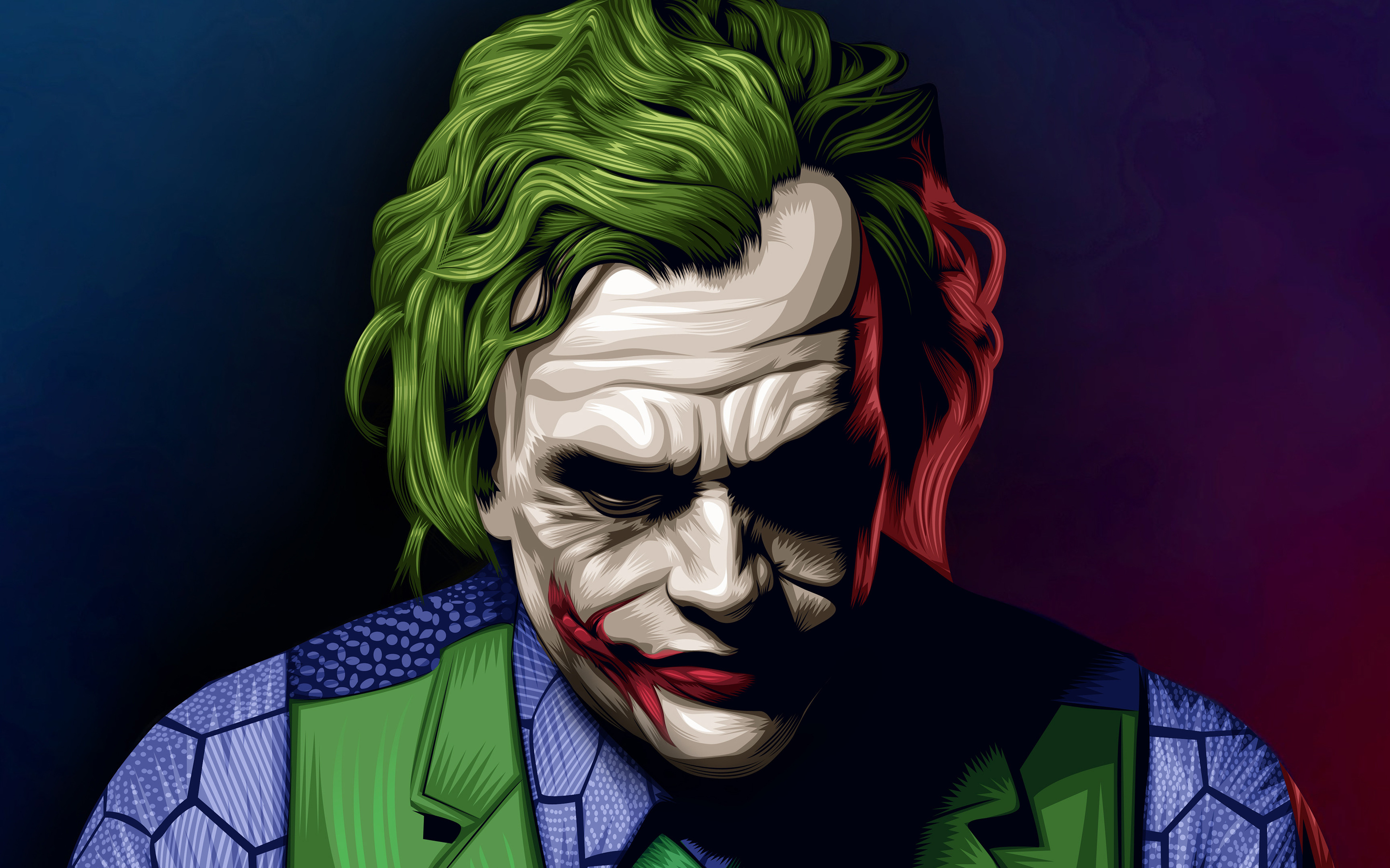 Heath Ledger Joker Wallpaper Amnet