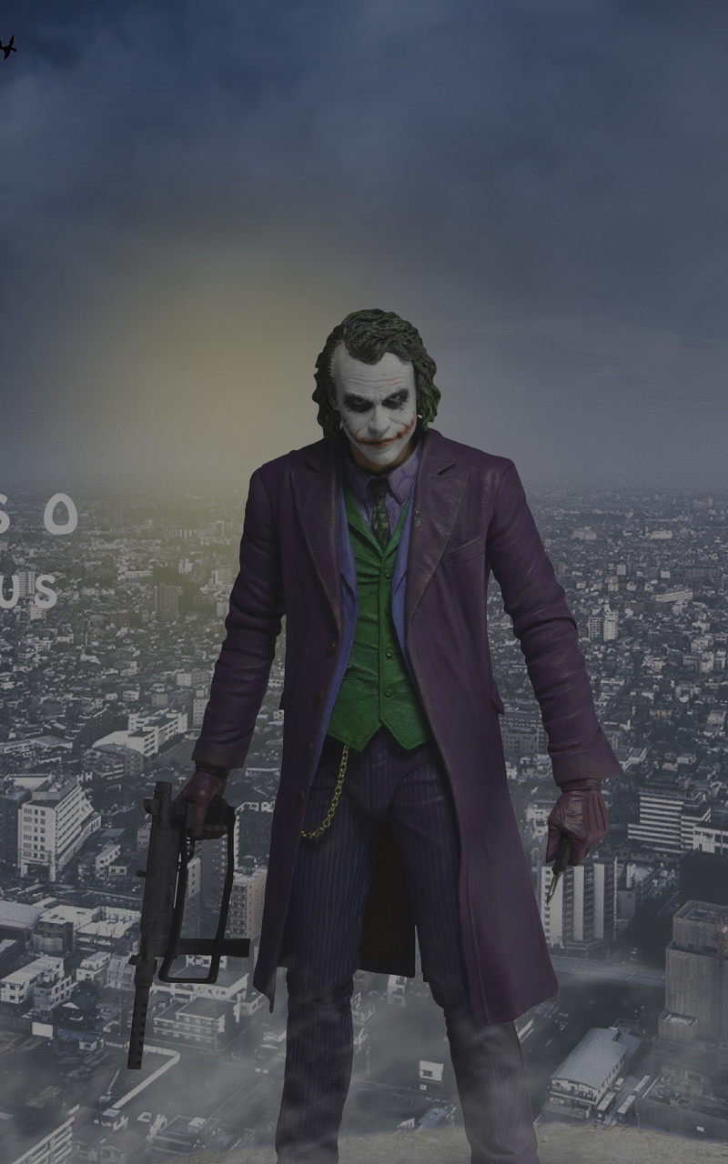 800x1280 Joker In Gotham City Nexus 7 Samsung Galaxy Tab 10 Note