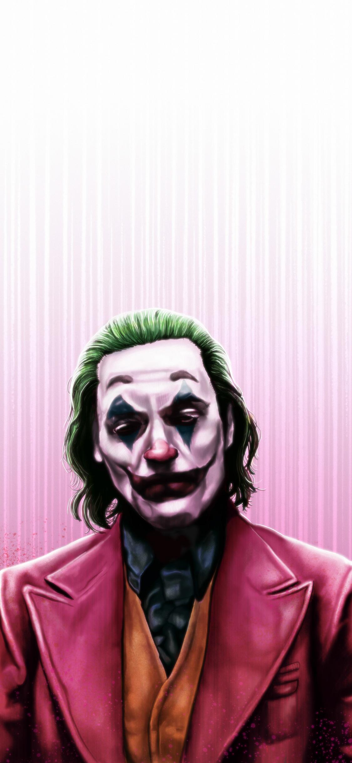 1125x2436 Joker Joaquin Phoenix 4k Art Iphone Xs Iphone 10