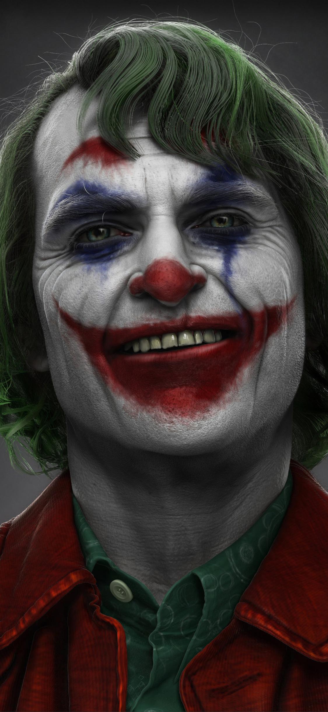 1125x2436 Joker Joaquin Phoenix Art Iphone Xs Iphone 10