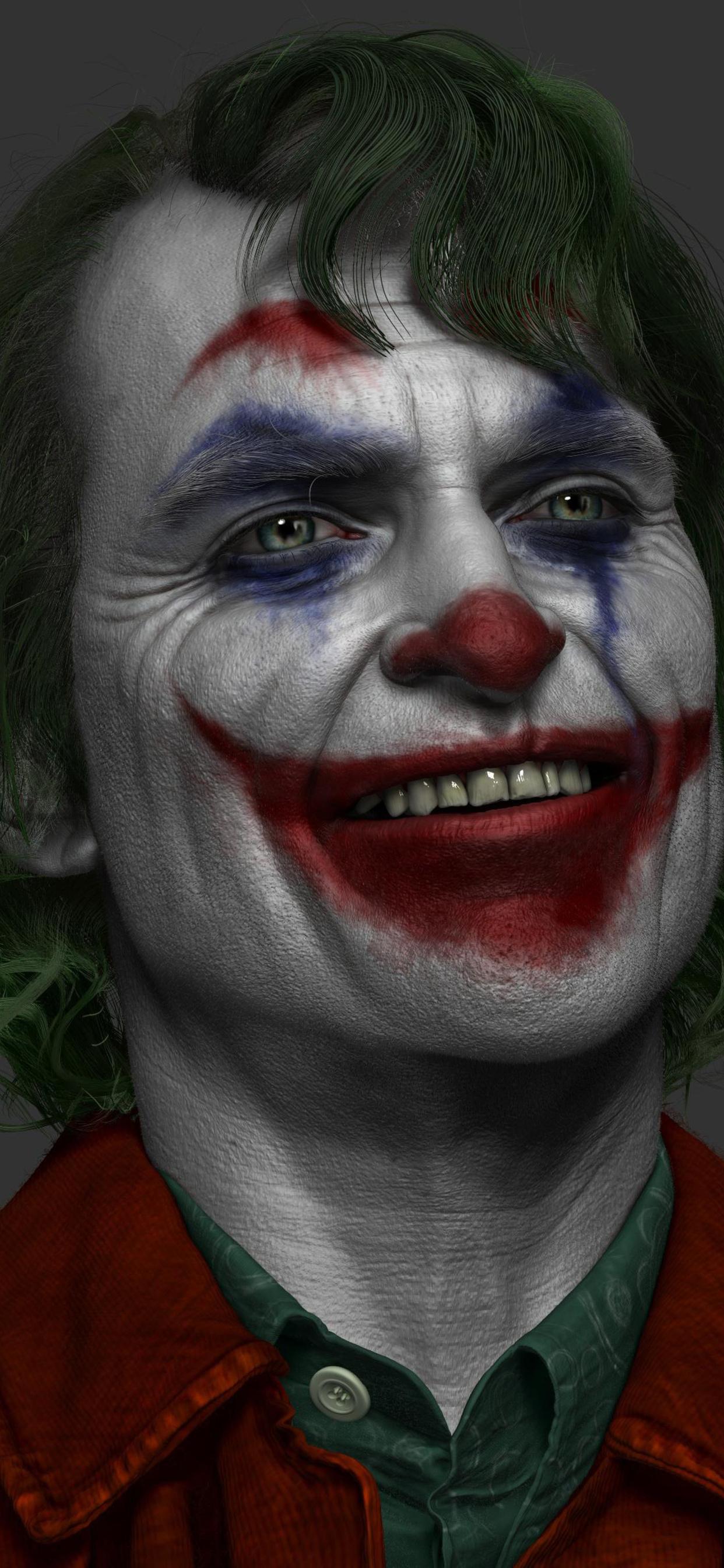 1242x2688 Joker Joaquin Phoenix Artwork 4k Iphone Xs Max Hd