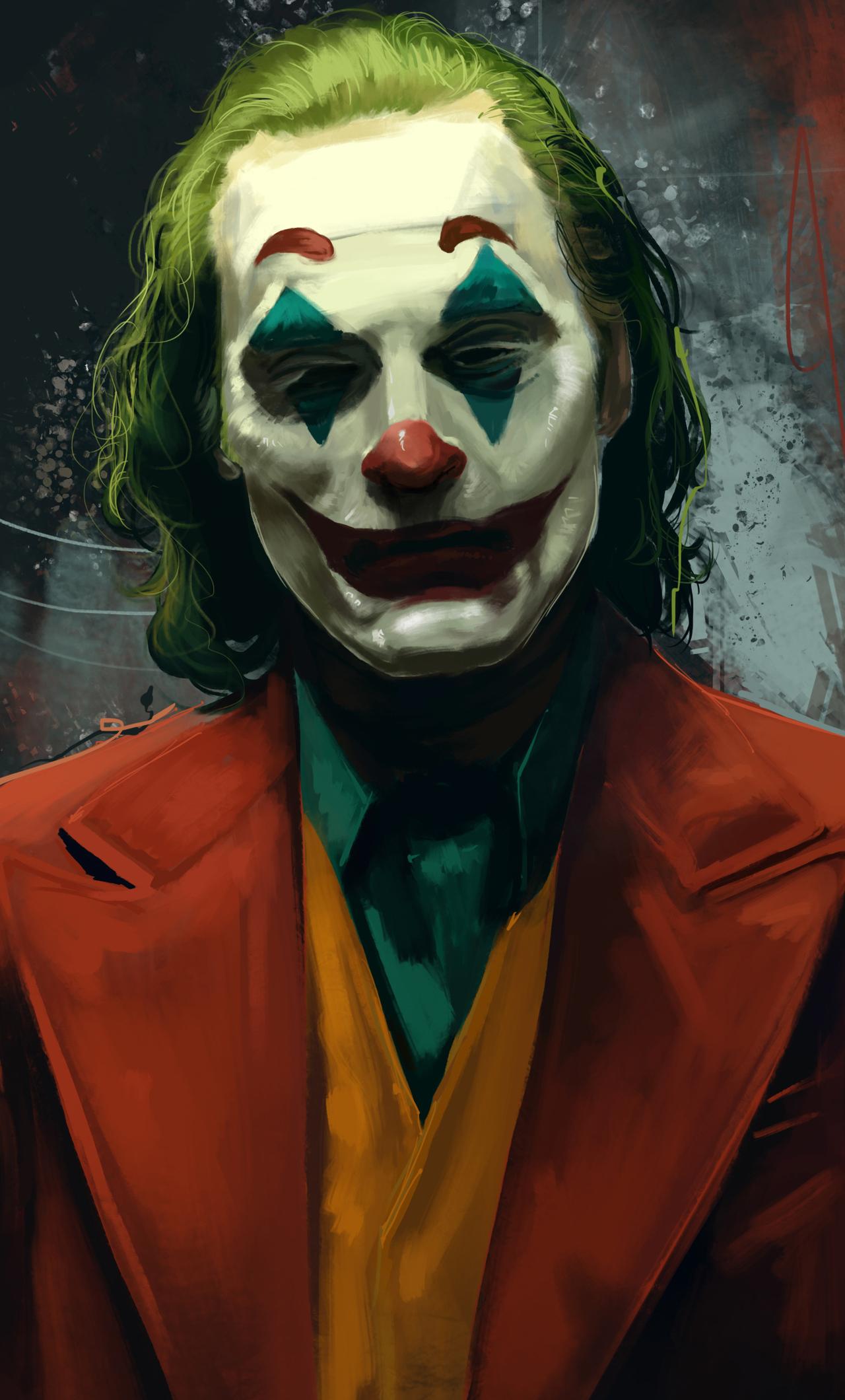 1280x2120 Joker Joaquin Phoenix Movie Artwork Iphone 6 Hd
