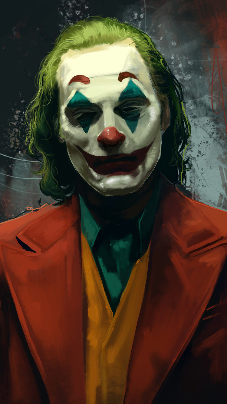 750x1334 Joker Joaquin Phoenix Movie Artwork Iphone 6
