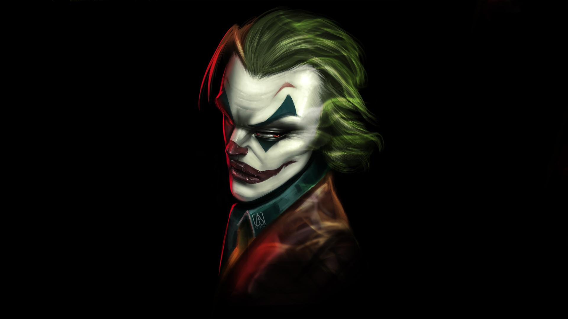 1920x1080 Joker Mad Art 4k Laptop Full Hd 1080p Hd 4k