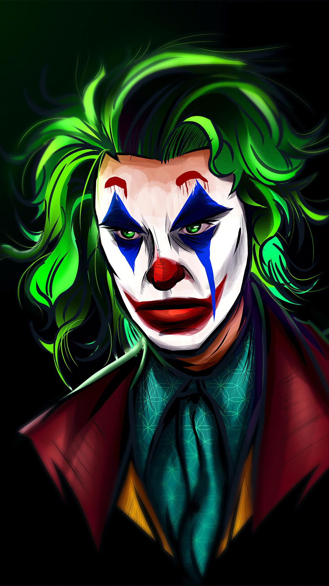 1080x1920 Joker Man 4k Iphone 7,6s,6 Plus, Pixel xl ,One ...