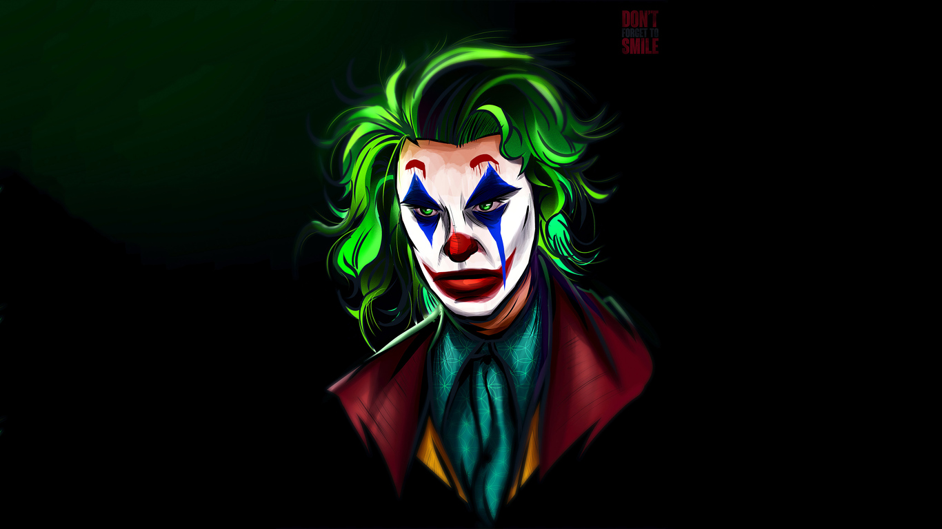 1366x768 Joker Man 4k 1366x768 Resolution Hd 4k Wallpapers Images Backgrounds Photos And Pictures