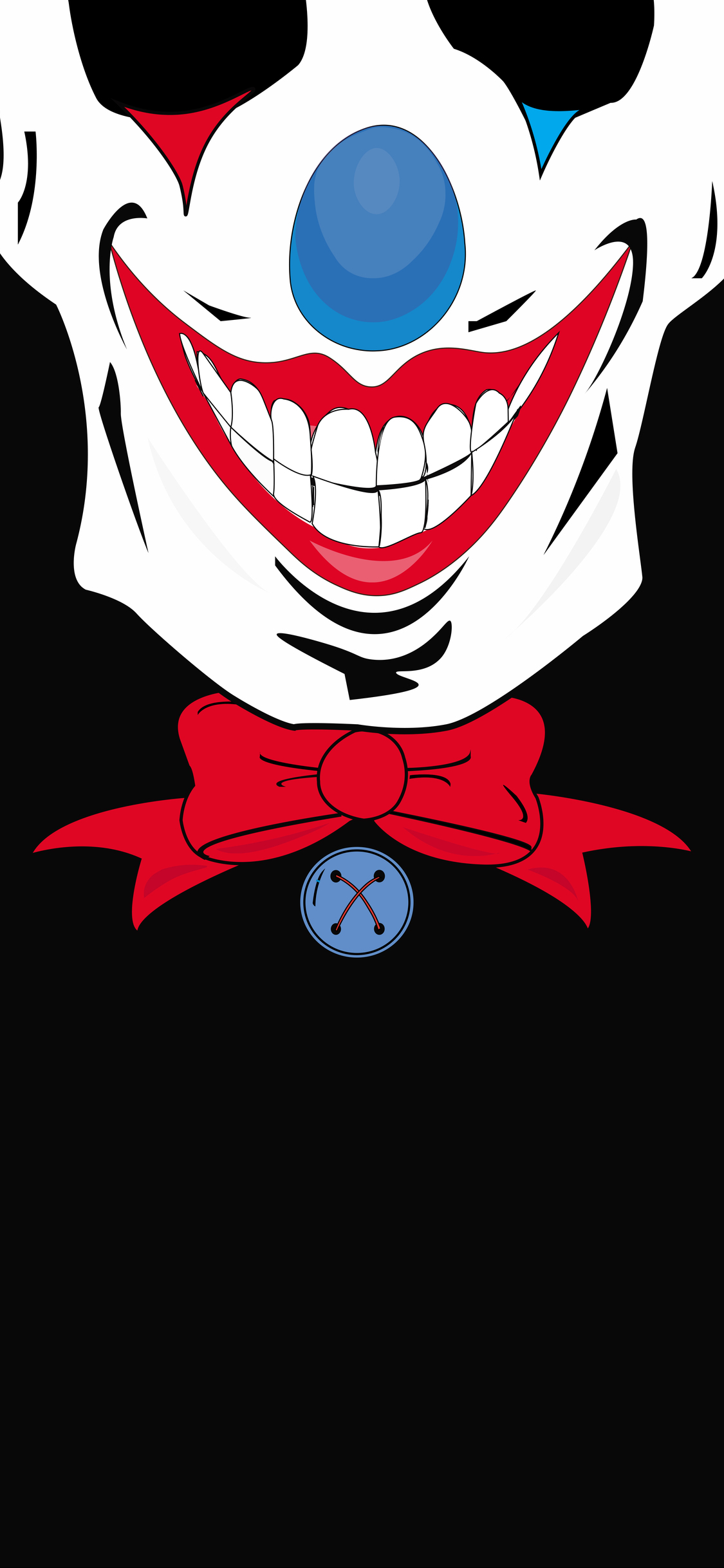 1125x2436 Joker Minimalist Dark Iphone Xs Iphone 10 Iphone X