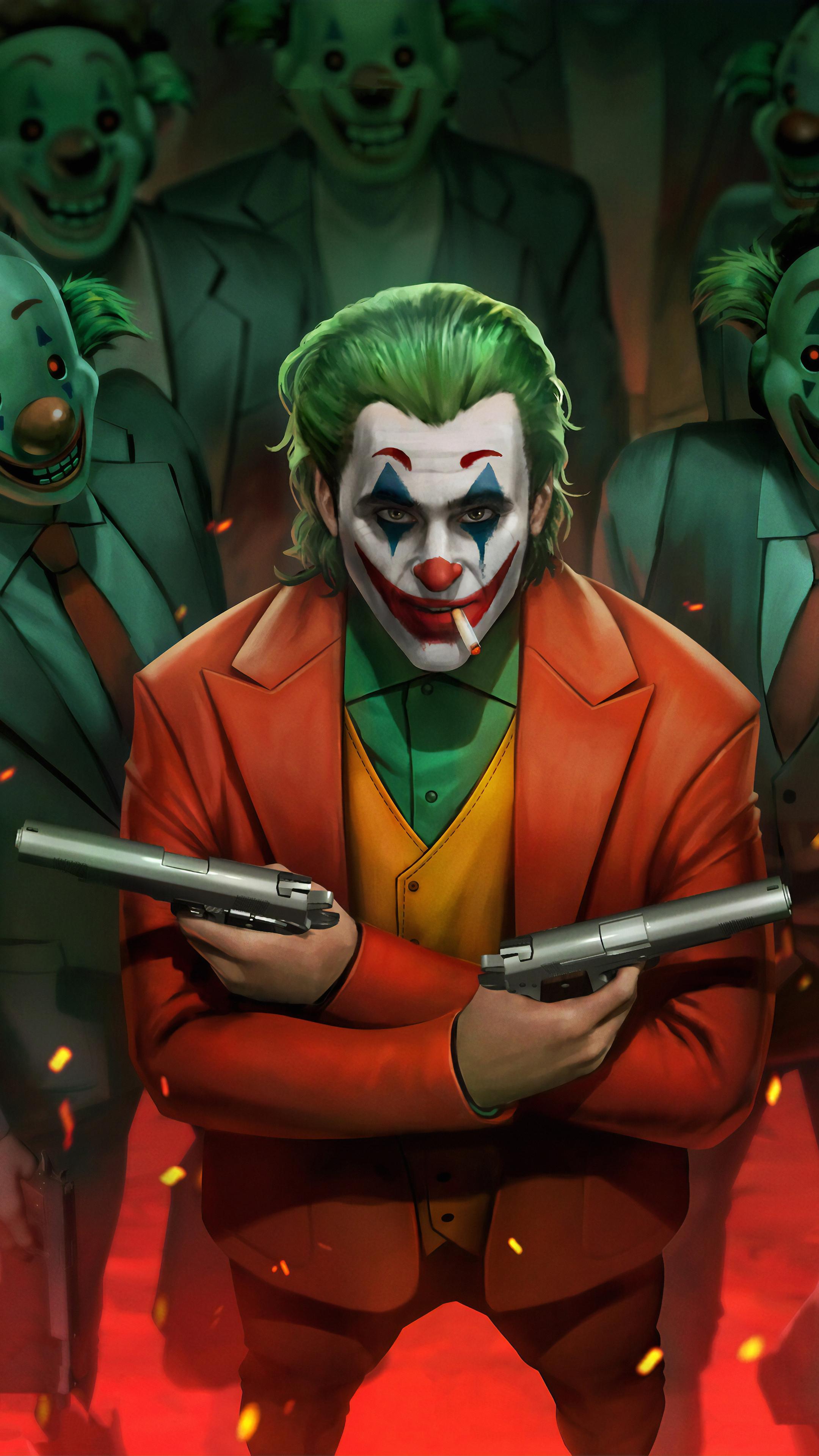 2160x3840 Joker Movie Art 4k Sony Xperia X,XZ,Z5 Premium ...