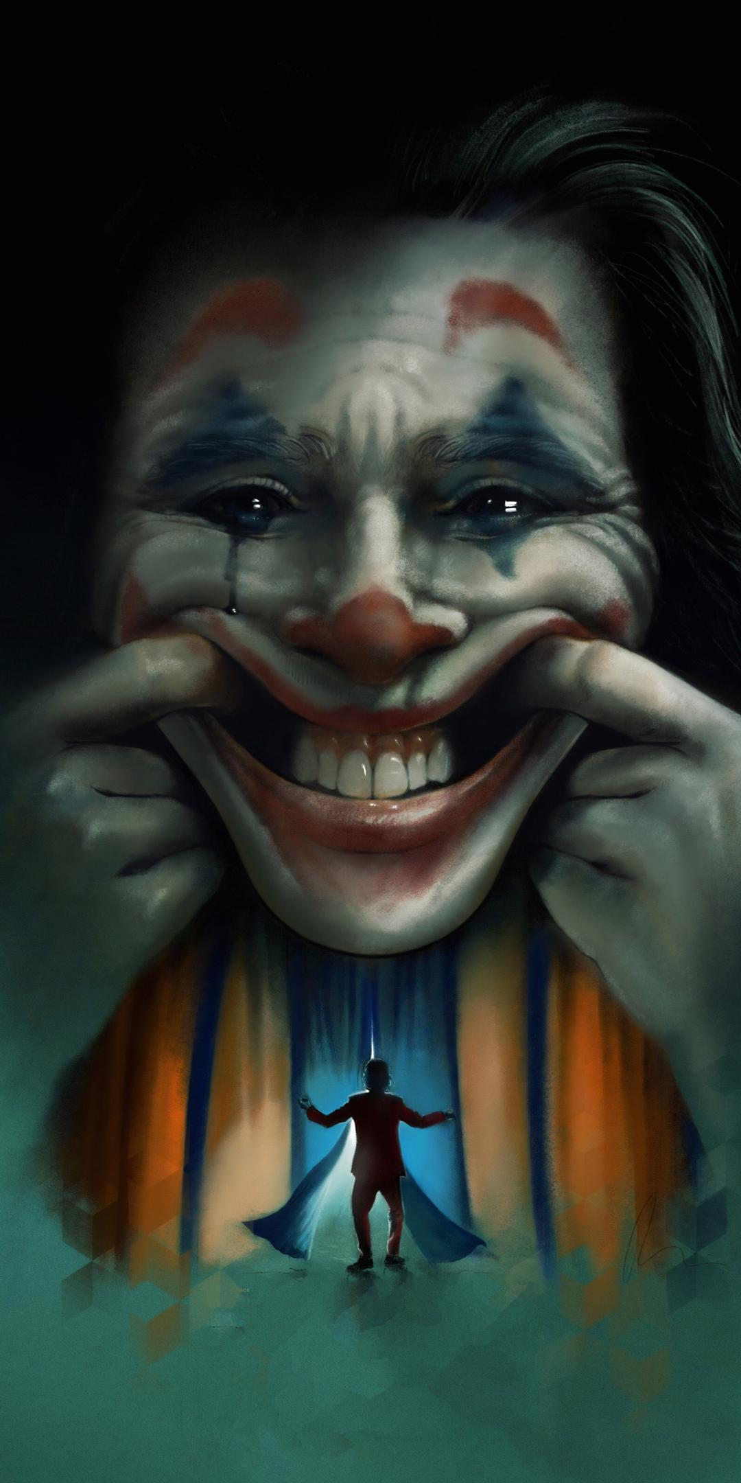 1080x2160 Joker Movie2019 Art One Plus 5t Honor 7x Honor
