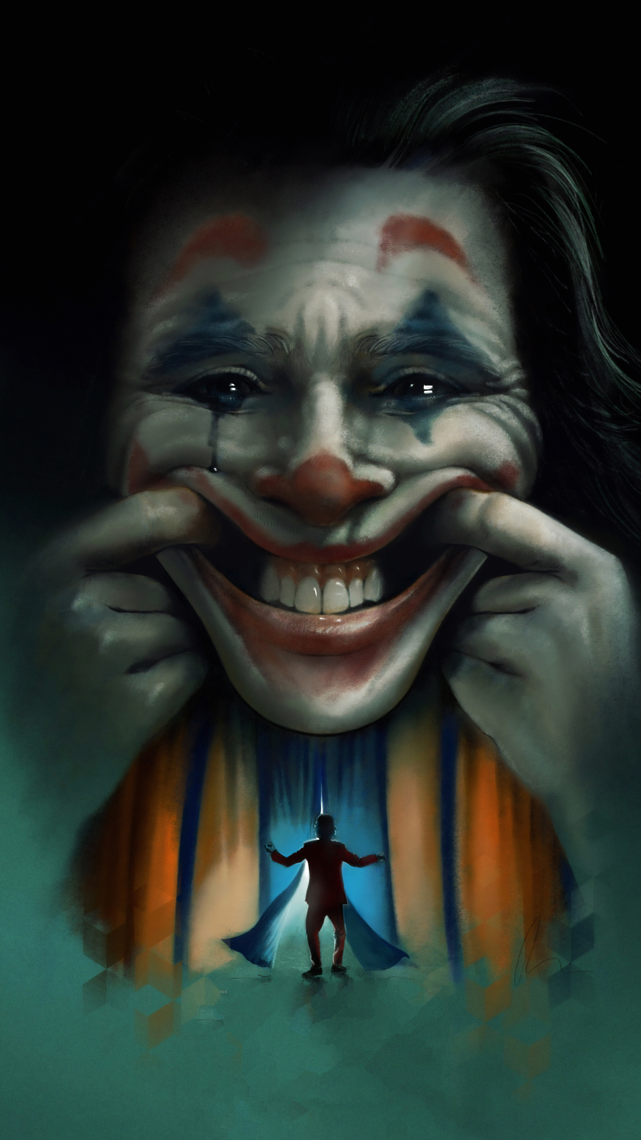 2160x3840 Joker Movie2019 Art Sony Xperia X,XZ,Z5 Premium ...