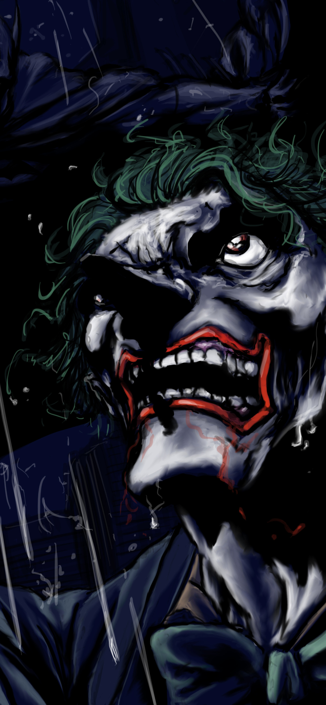 1242x2688 Joker Night 4k Iphone Xs Max Hd 4k Wallpapers Images