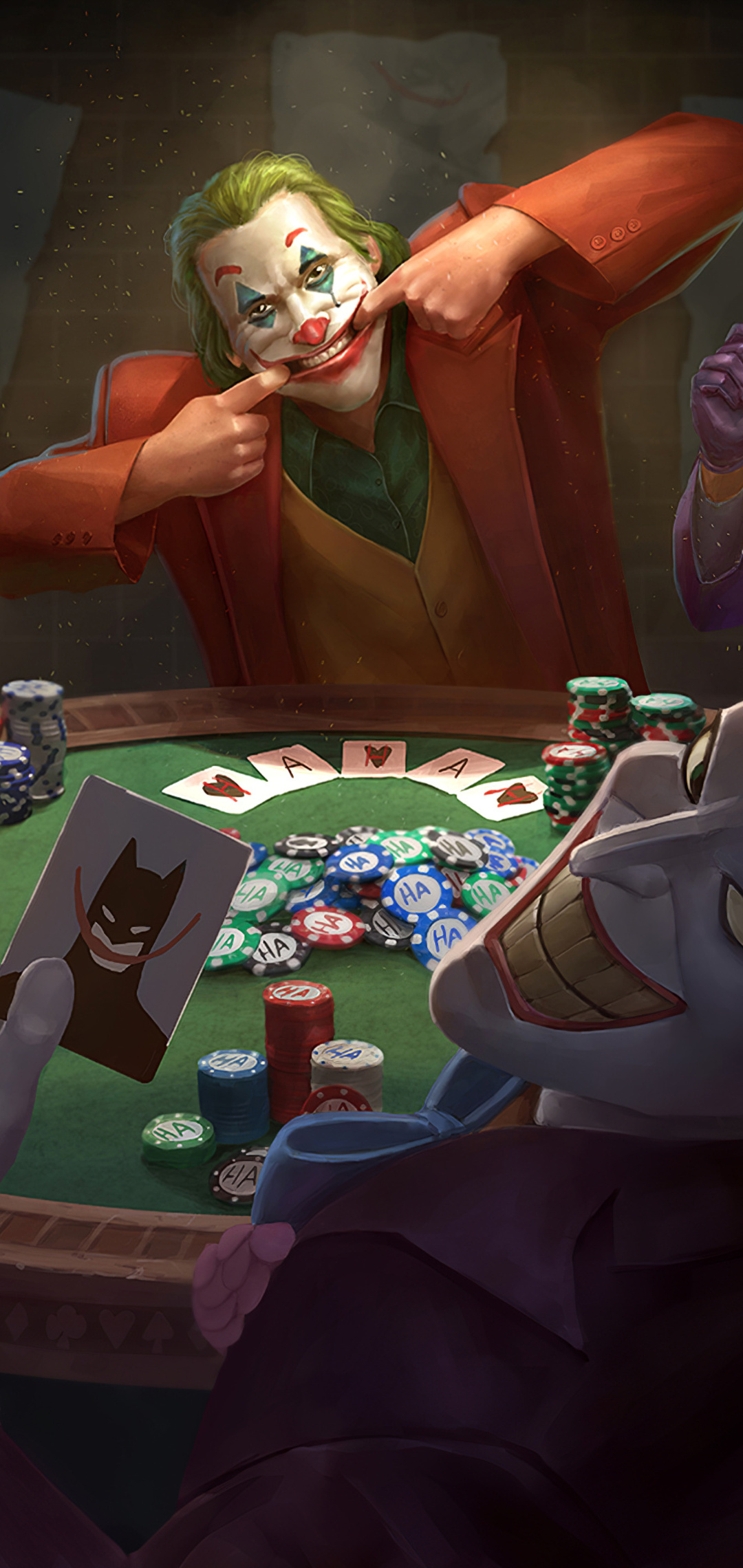 1080x2280 Joker Poker One Plus 6 Huawei P20 Honor View 10 Vivo Y85 Oppo F7 Xiaomi Mi A2 Hd 4k Wallpapers Images Backgrounds Photos And Pictures