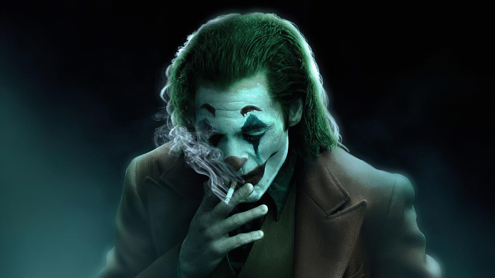 1600x900 Joker Smoker Art 4k 1600x900 Resolution HD 4k ...