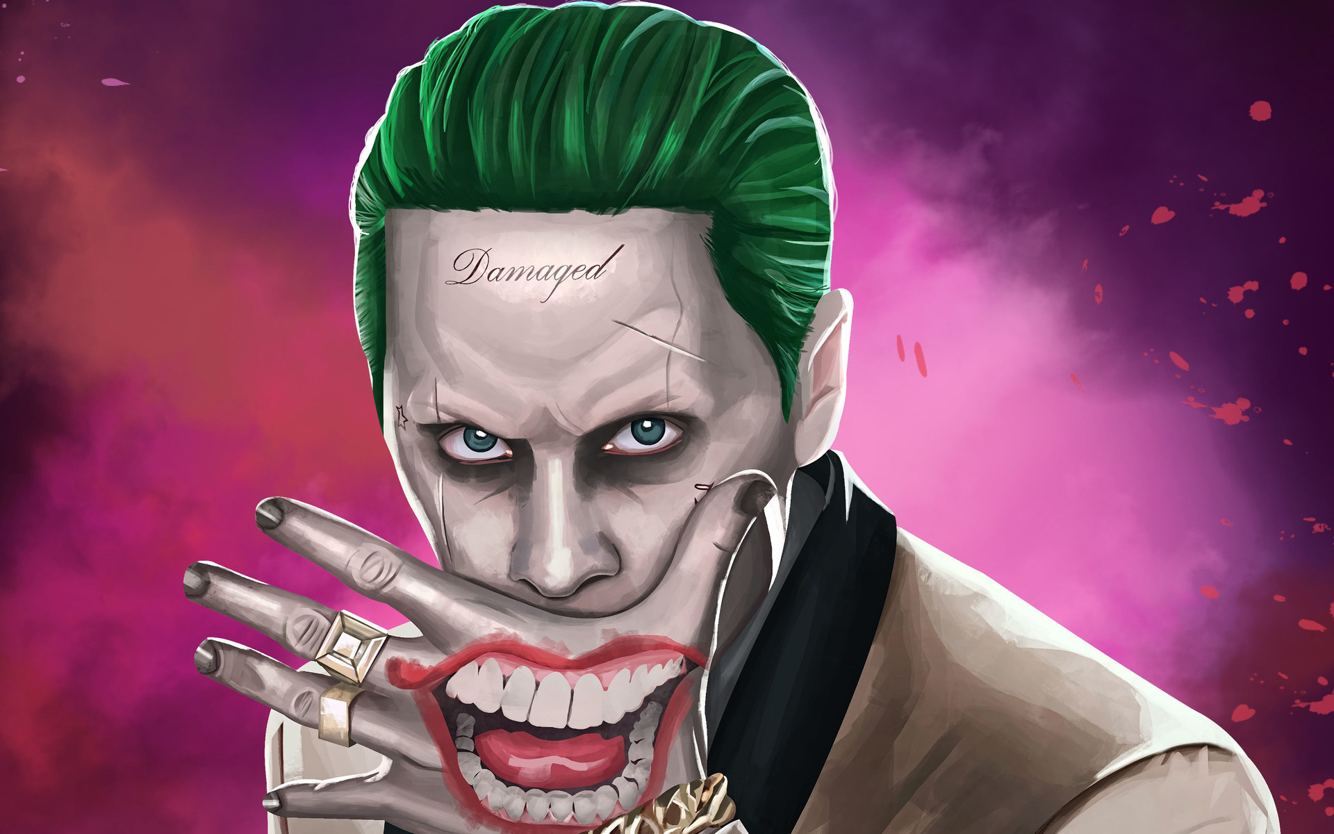 1920x1200 Joker Suicide Squad Artwork HD 1080P Resolution