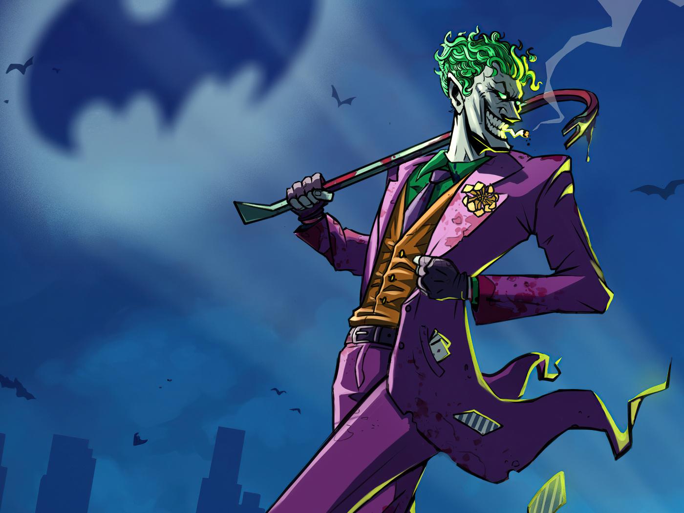 1400x1050 Joker Take Over Gotham City 1400x1050 Resolution ...