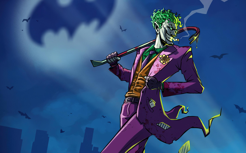 2880x1800 Joker Take Over Gotham City Macbook Pro Retina ...