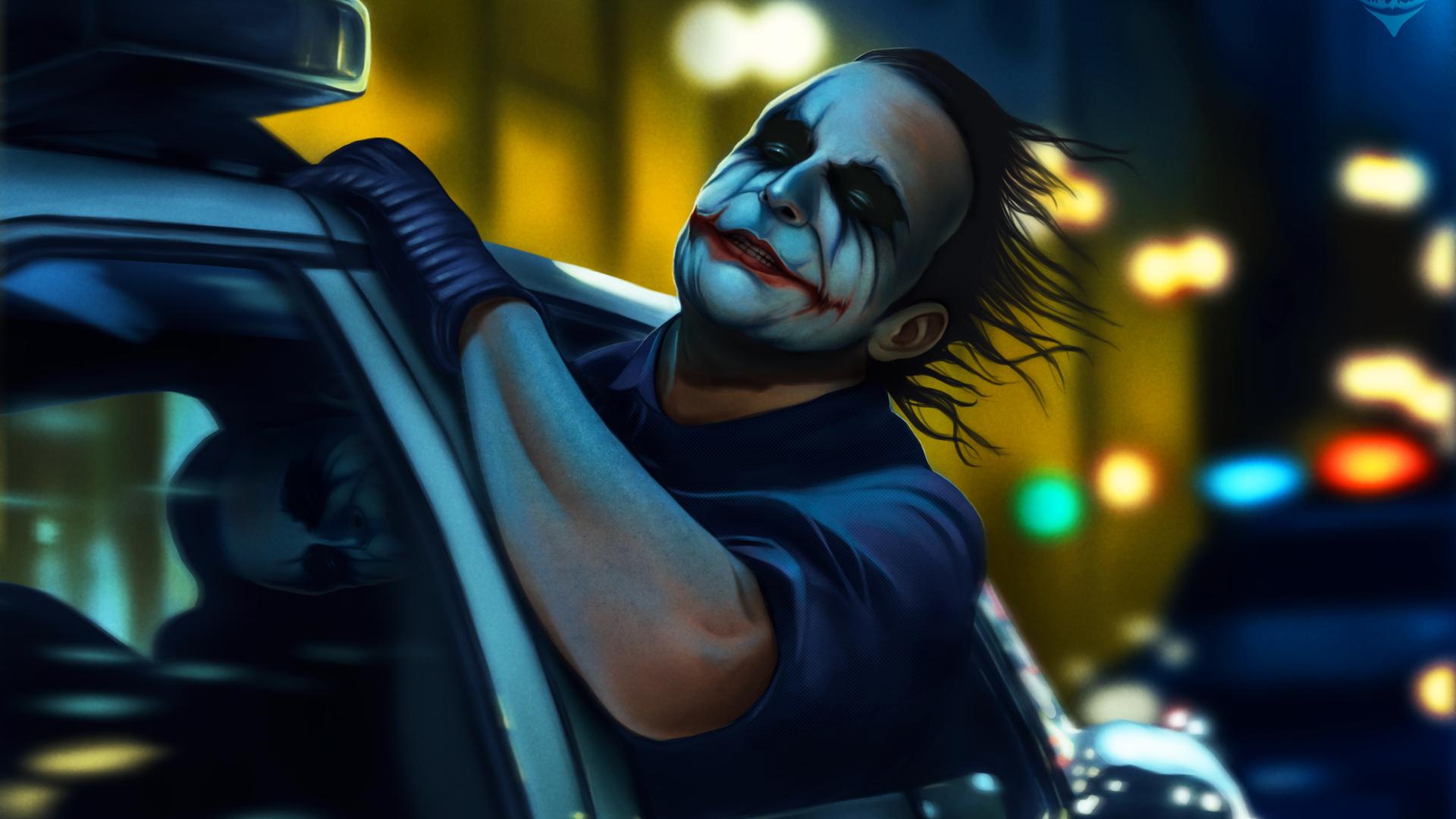 1920x1080 Joker The Dark Knight 4k 2018 Laptop Full Hd 1080p