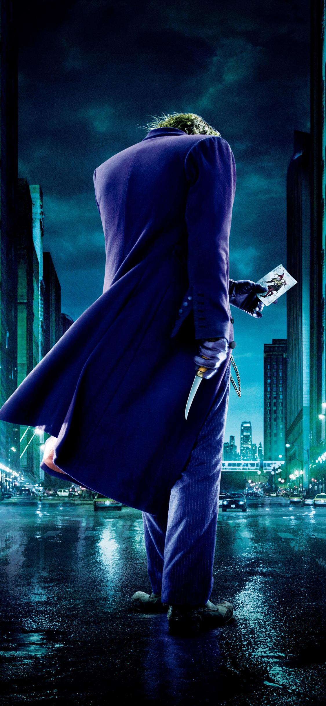 1125x2436 Joker The Dark Knight 4k Iphone XS,Iphone 10 ...