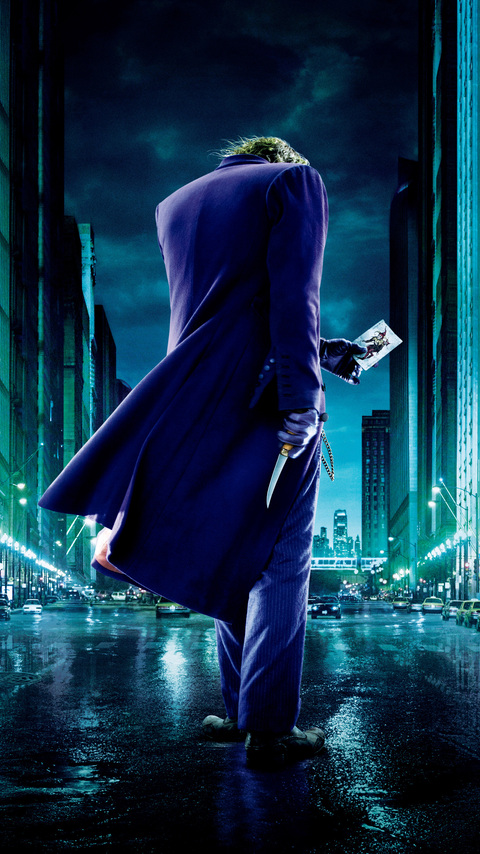 480x854 Joker The Dark Knight 4k Android One Hd 4k Wallpapers