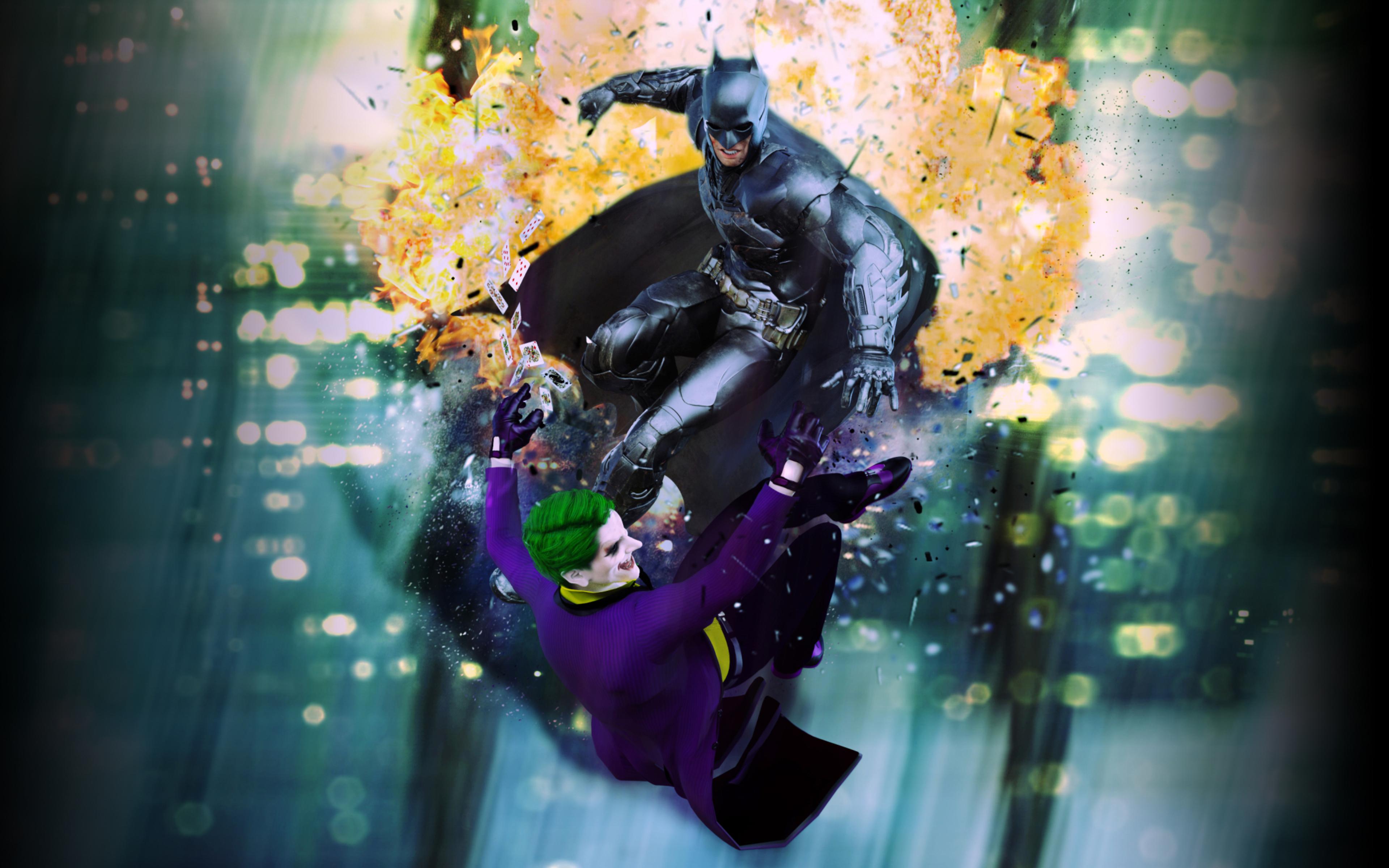 3840x2400 Joker Vs Batman 4k HD 4k Wallpapers, Images ...