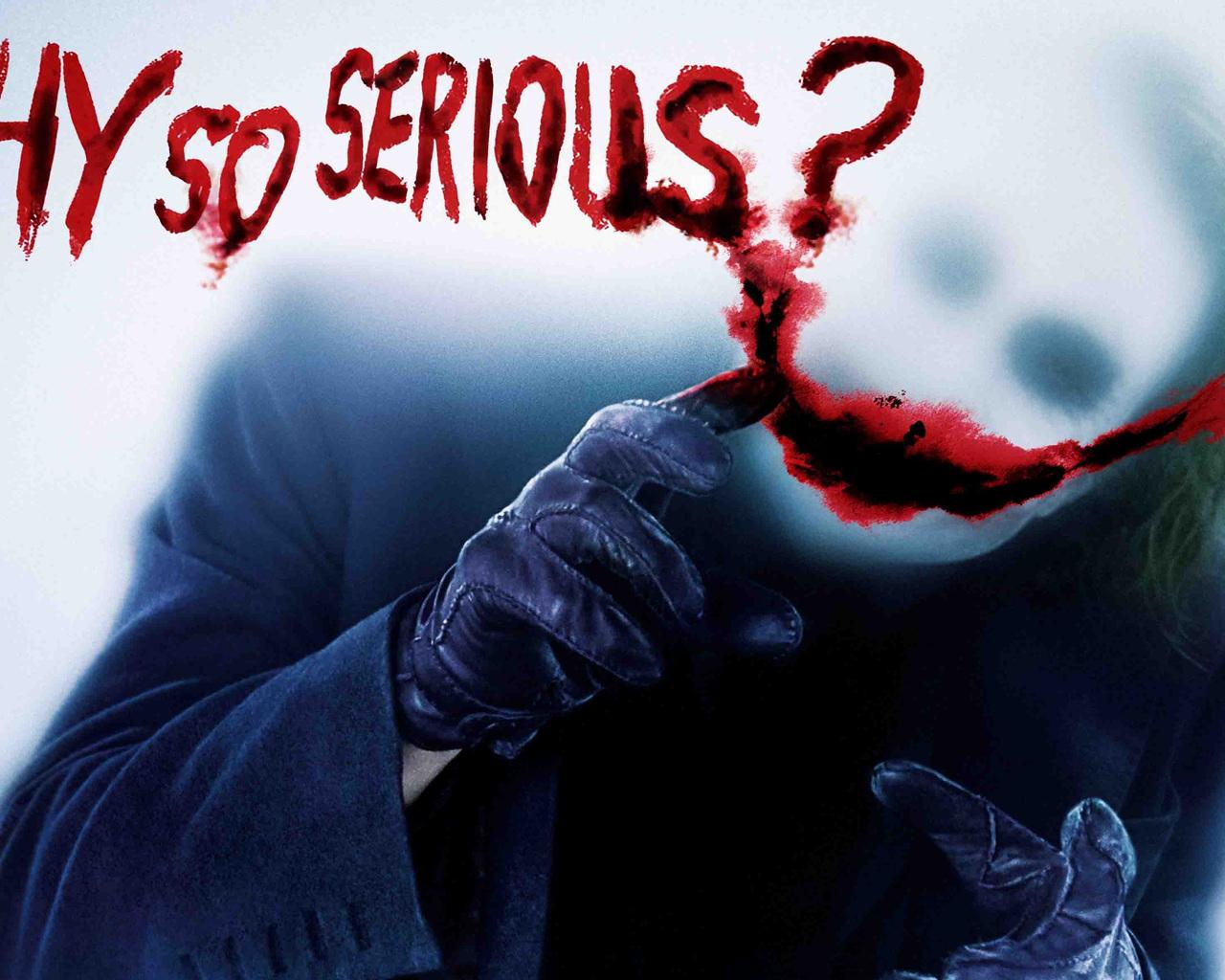 1280x1024 Joker Why So Serious 1280x1024 Resolution HD 4k
