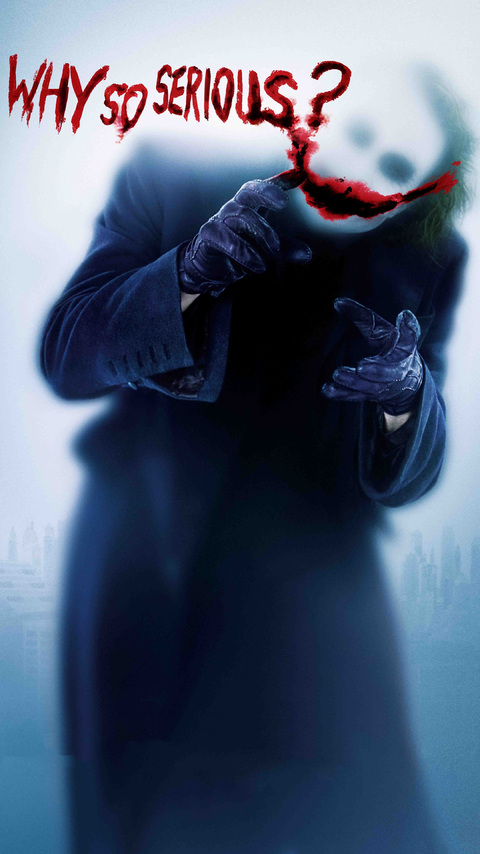 Joker Why So Serious Z0