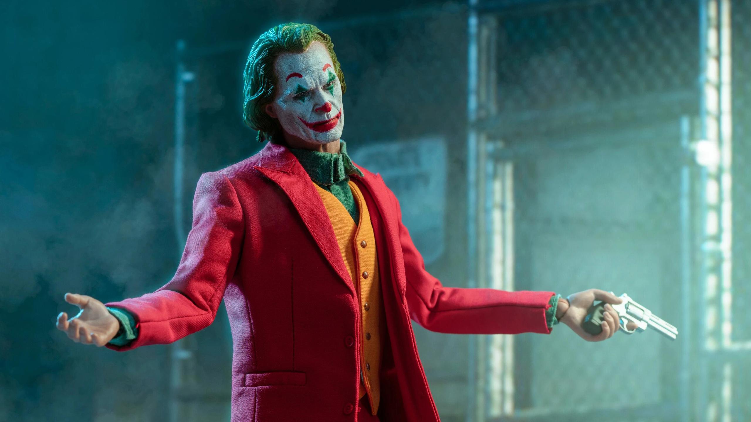 2560x1440 Joker With Gun 2020 1440P Resolution HD 4k ...