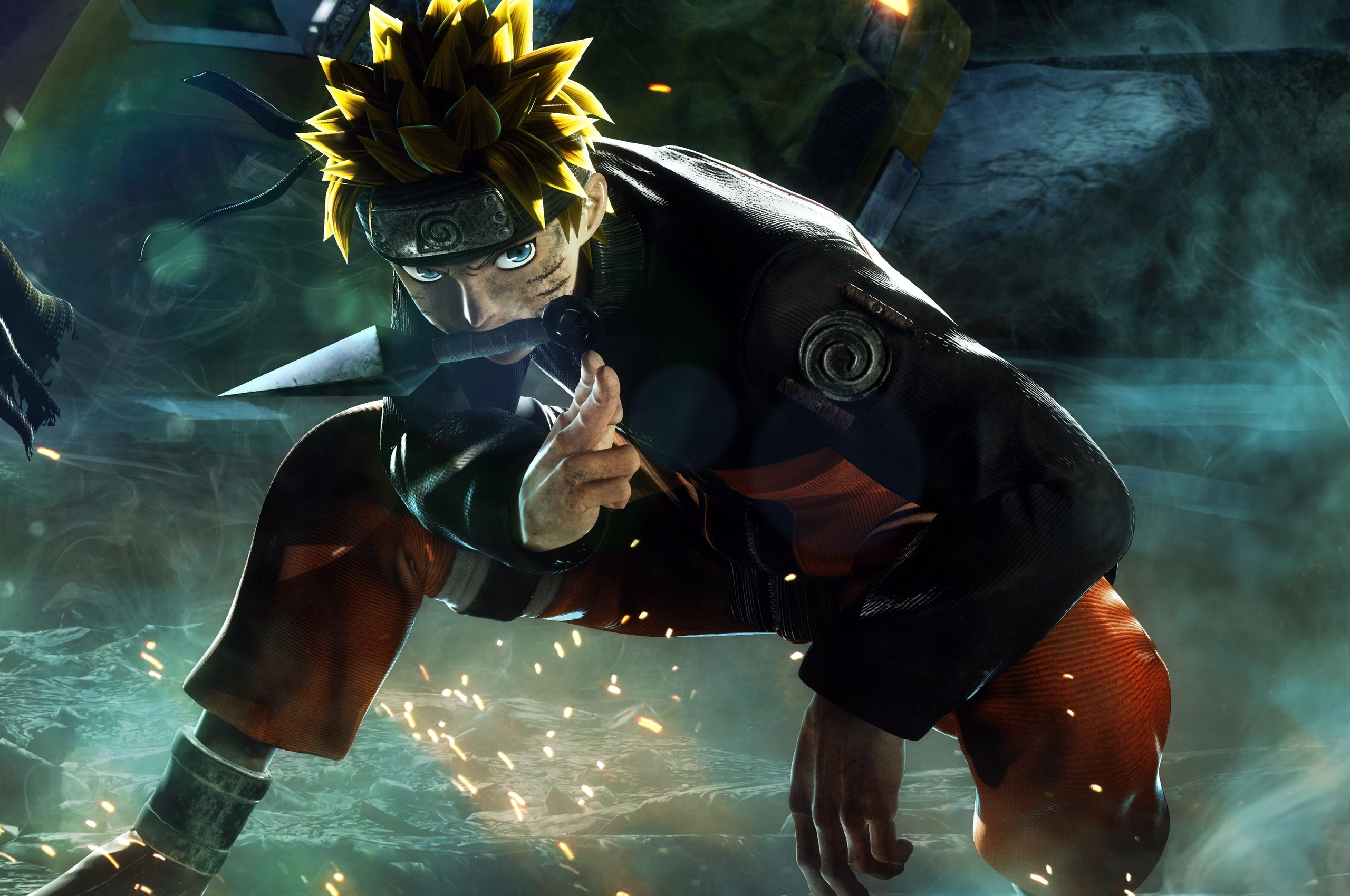 jump force naruto 4k vx