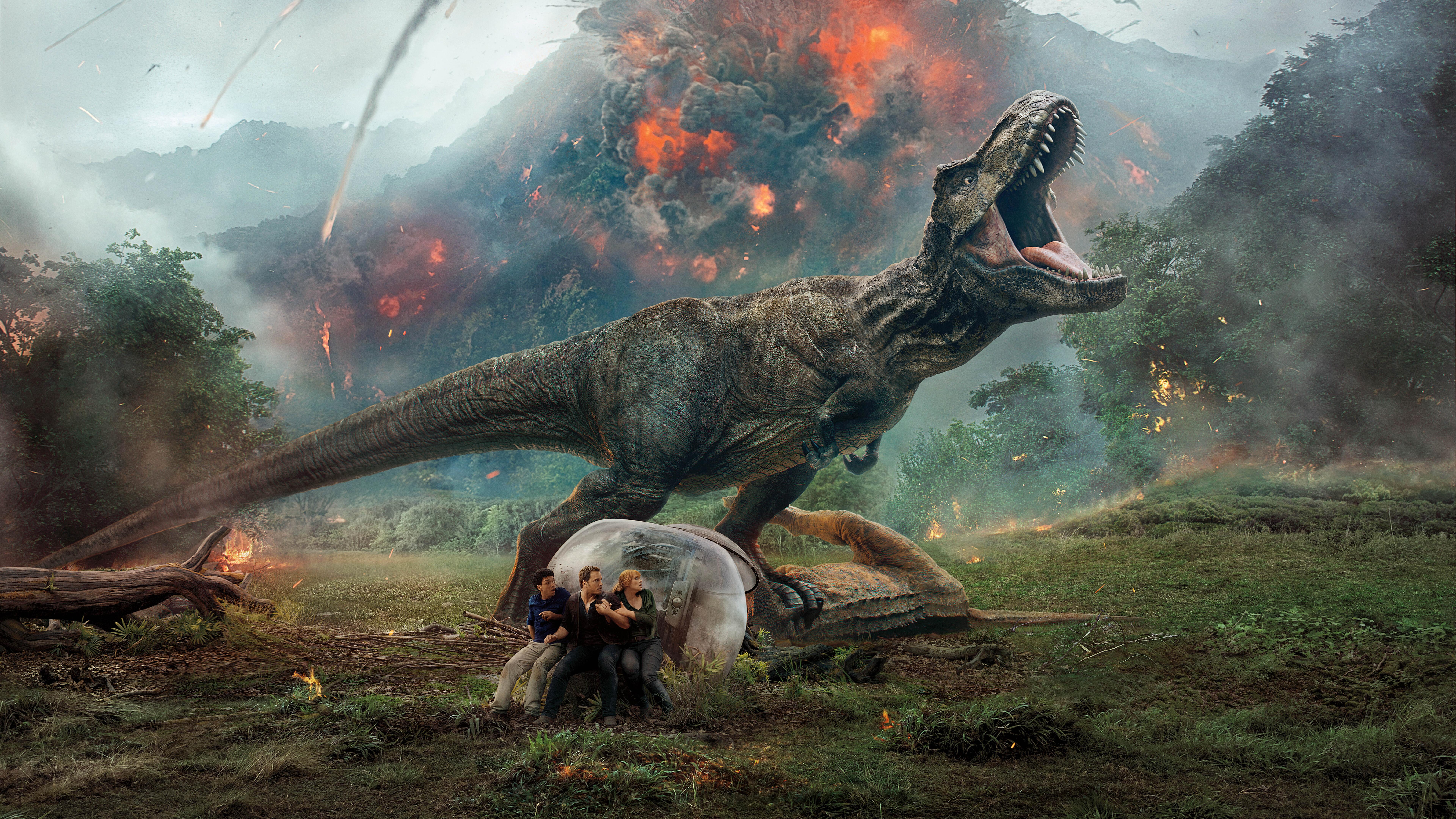 7680x4320 Jurassic World Fallen Kingdom 10k 8k Hd 4k