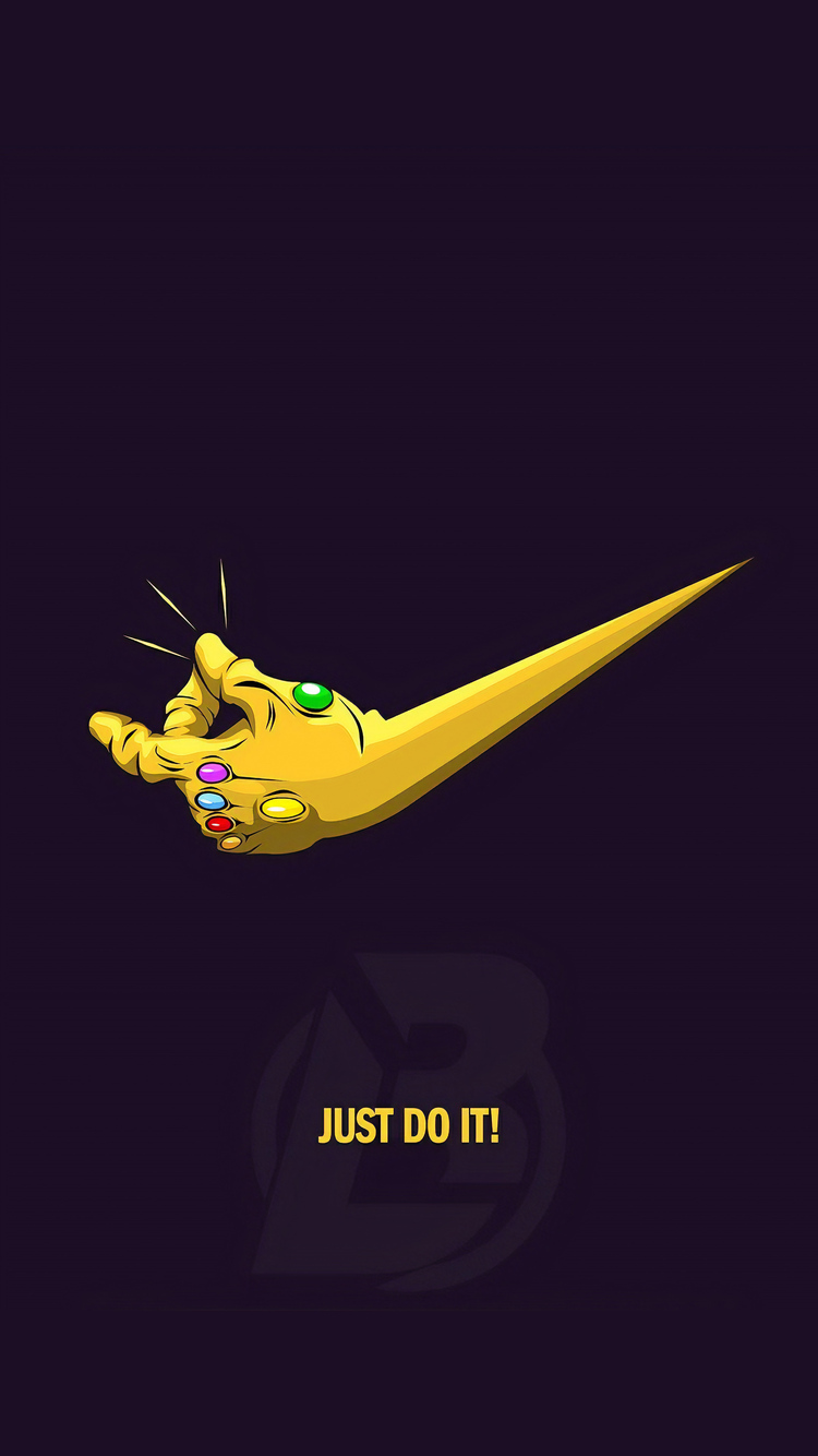 750x1334 Just Do It Thanos 4k Iphone 6 Iphone 6s Iphone 7