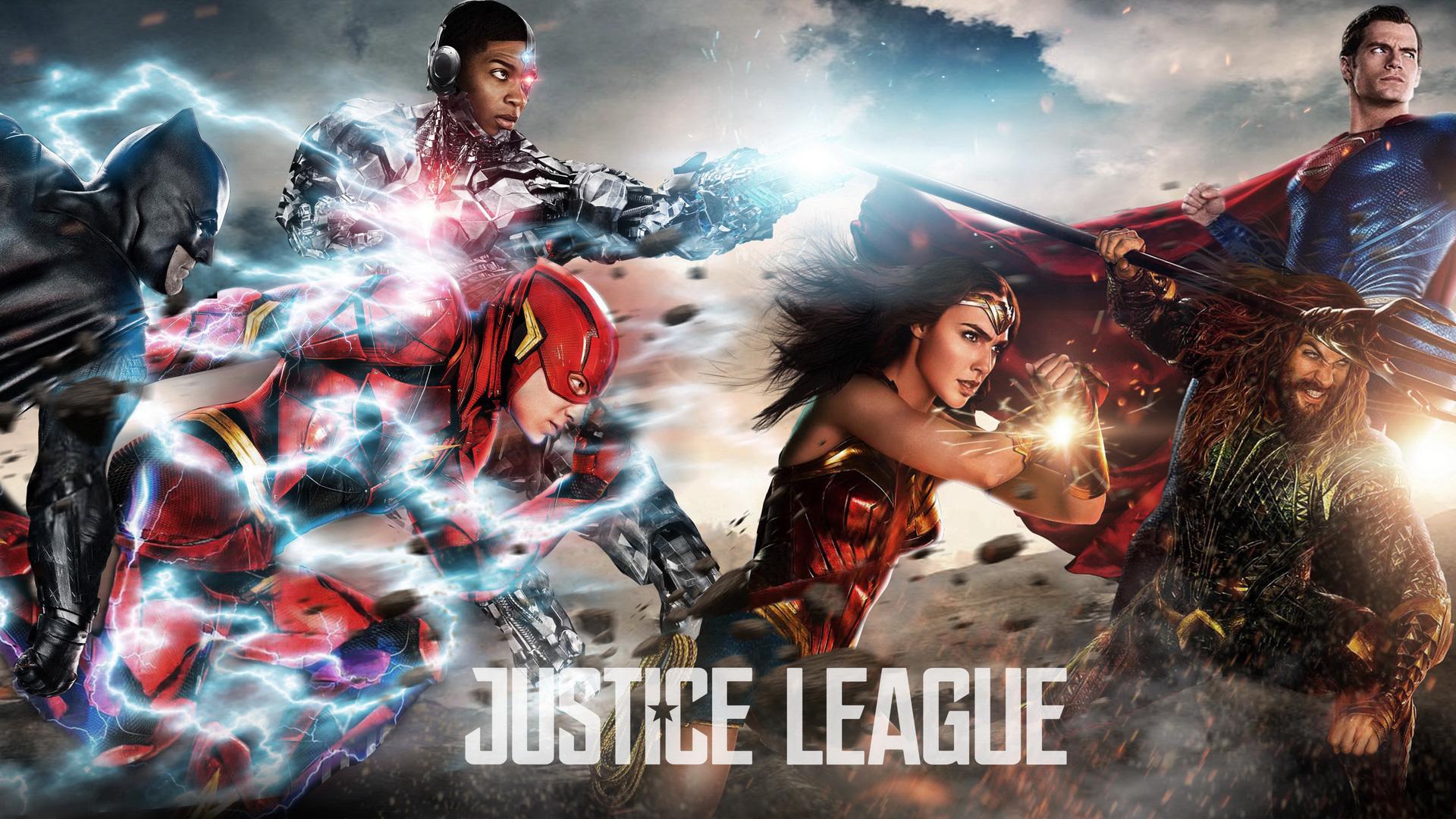 Justice League 2017 Fan Art 9e