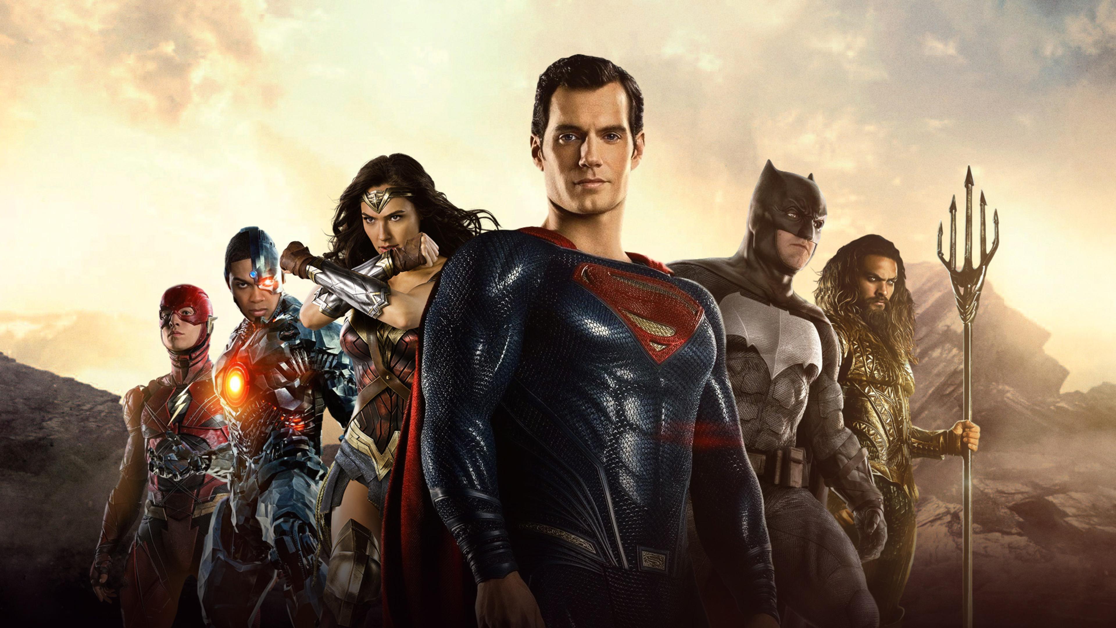 Wonder Woman Justice League 4k Fan Art Hd Movies 4k: 3840x2160 Justice League 2017 Movie 4k HD 4k Wallpapers