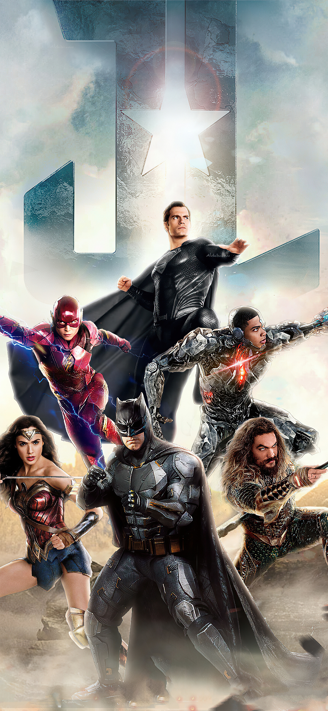 1125x2436 Justice League 2020 Arts New Iphone XS,Iphone 10 ...