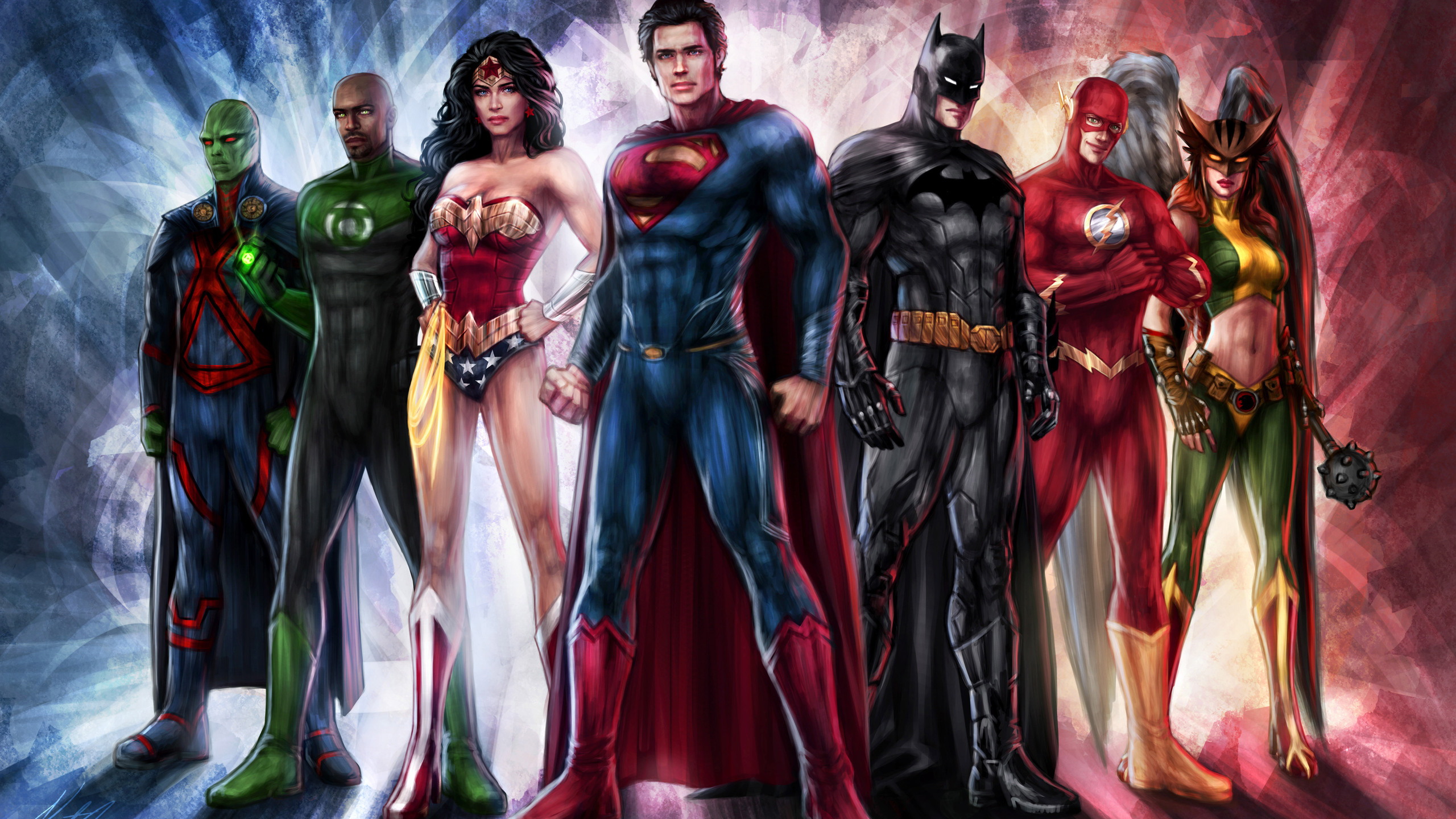 2560x1440 Justice League Art 5k 1440P Resolution HD 4k ...