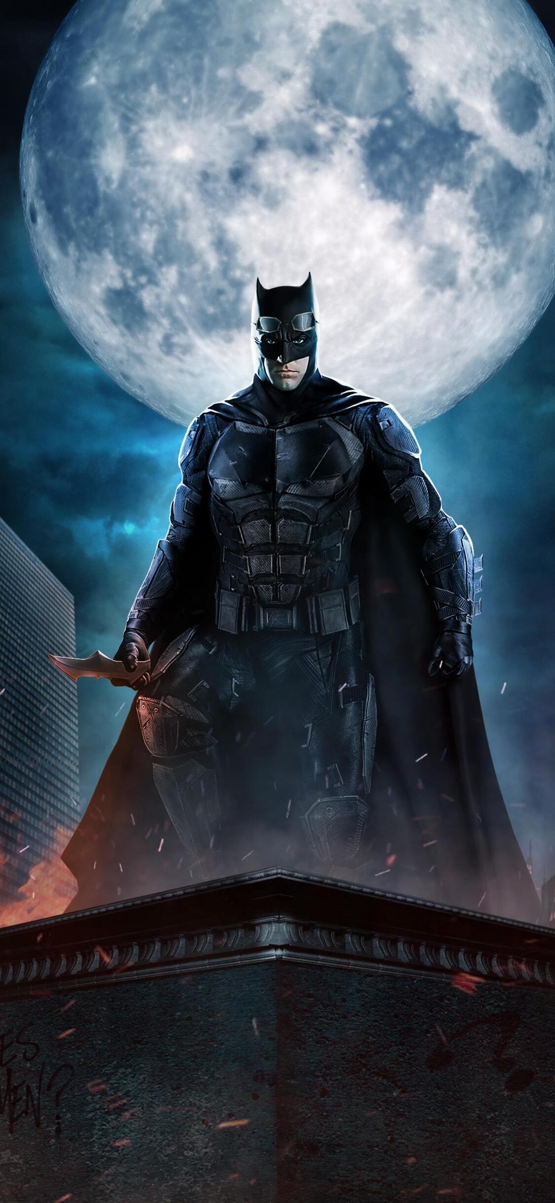 1125x2436 Justice League Batman The Dark Knight Fan Art Iphone Xs