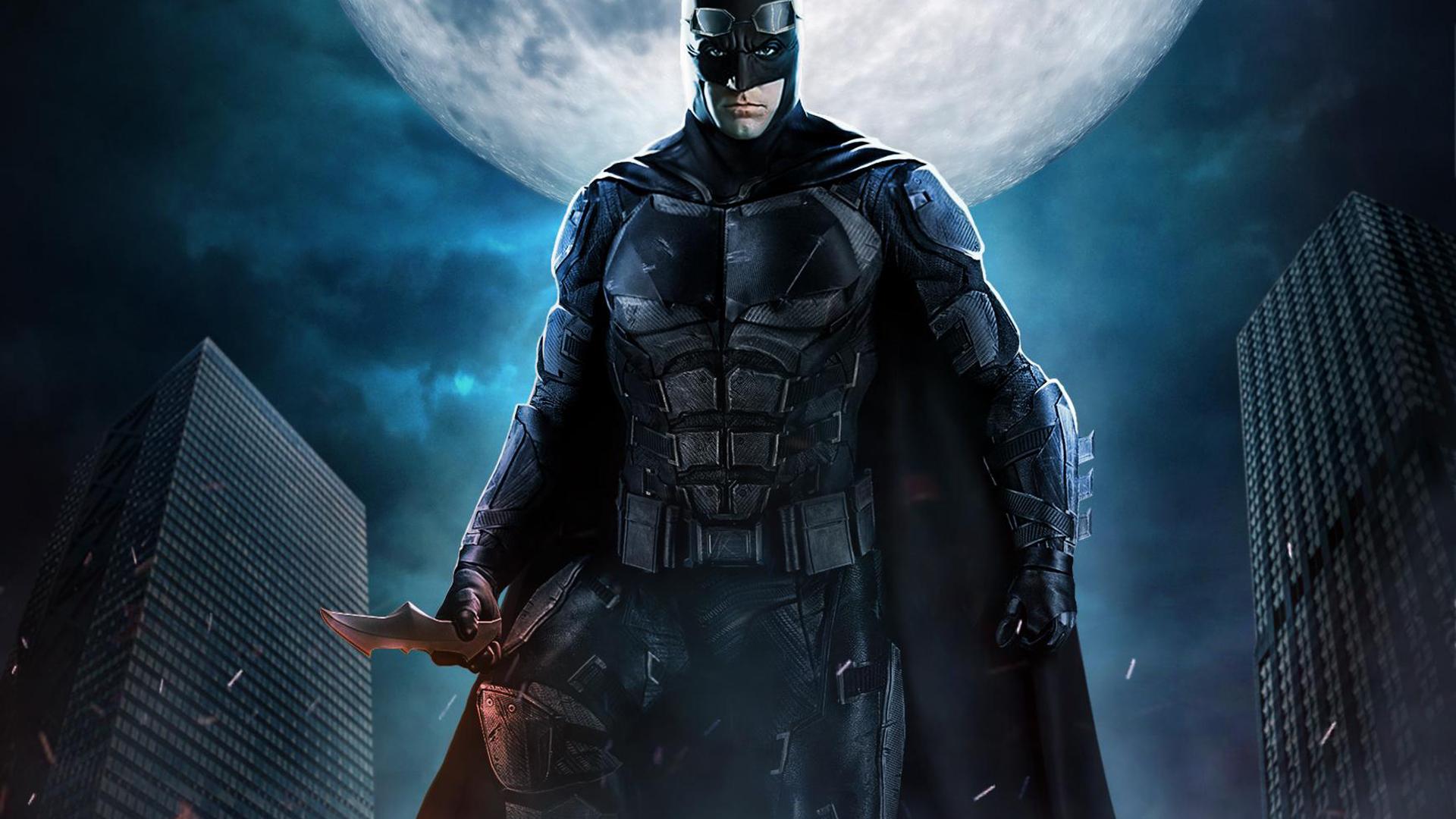 1920x1080 Justice League Batman The Dark Knight Fan Art