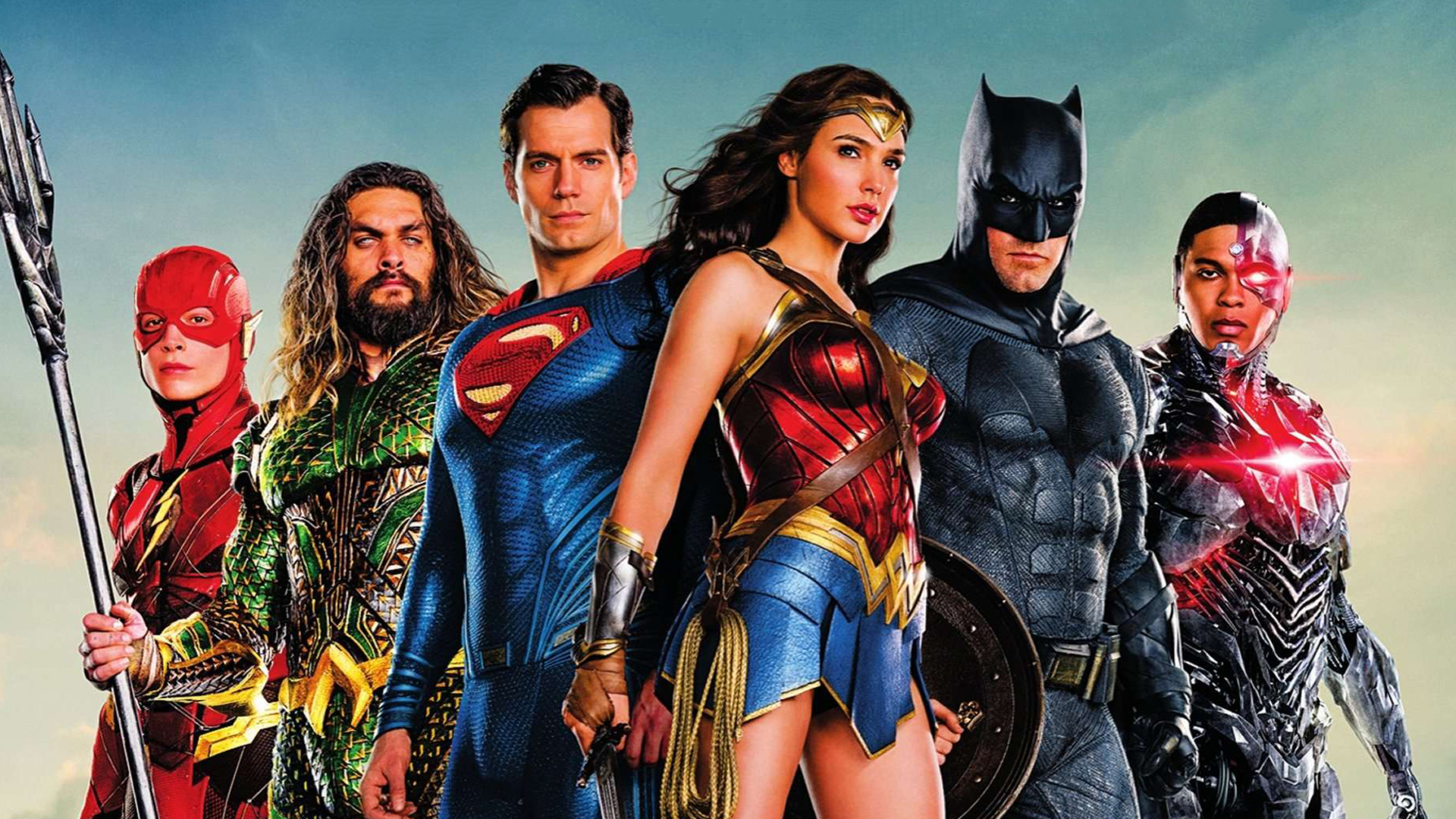 Justice League Movie Poster So