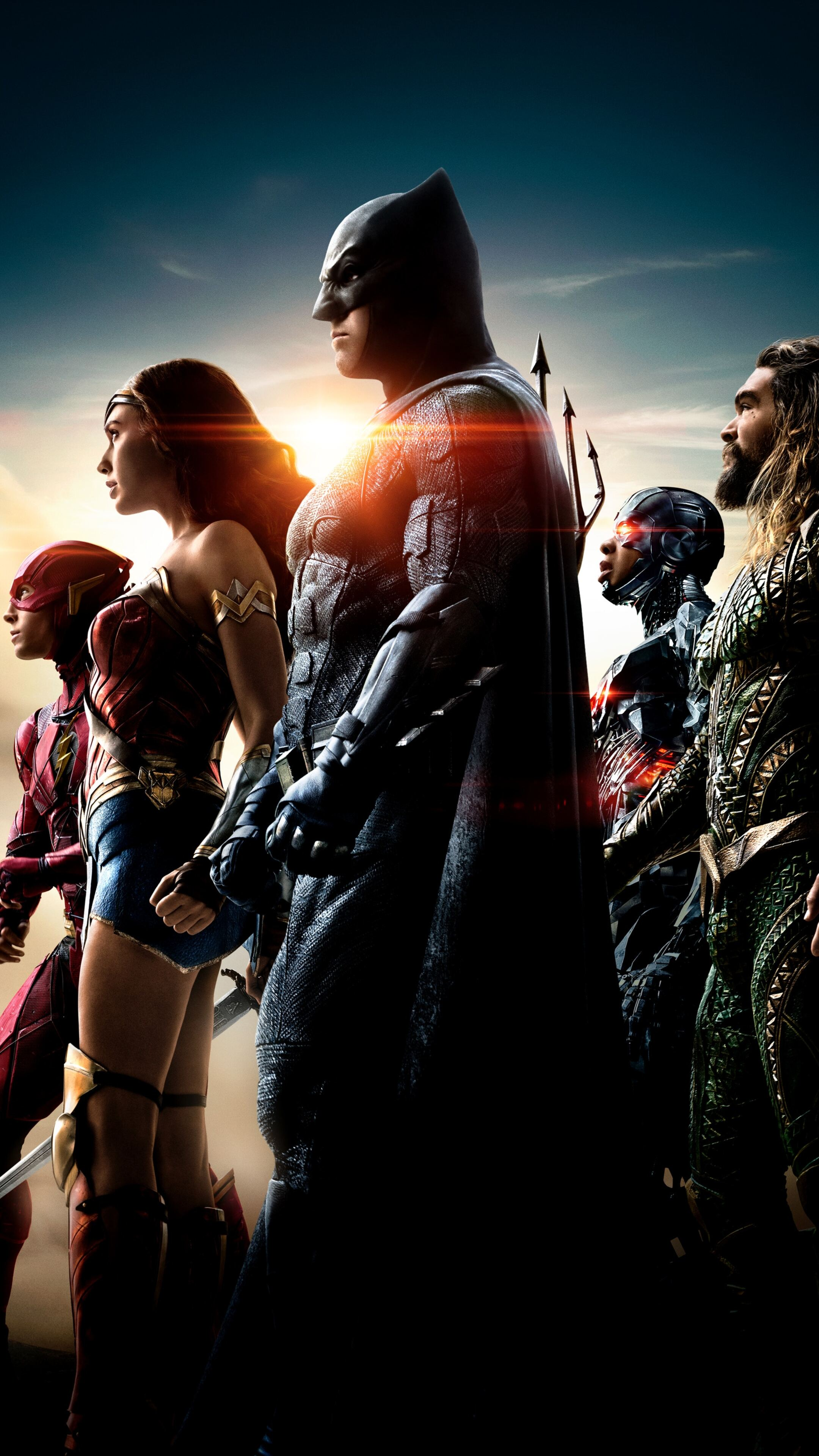 2160x3840 Justice League Unite The League 4k Sony Xperia X ...