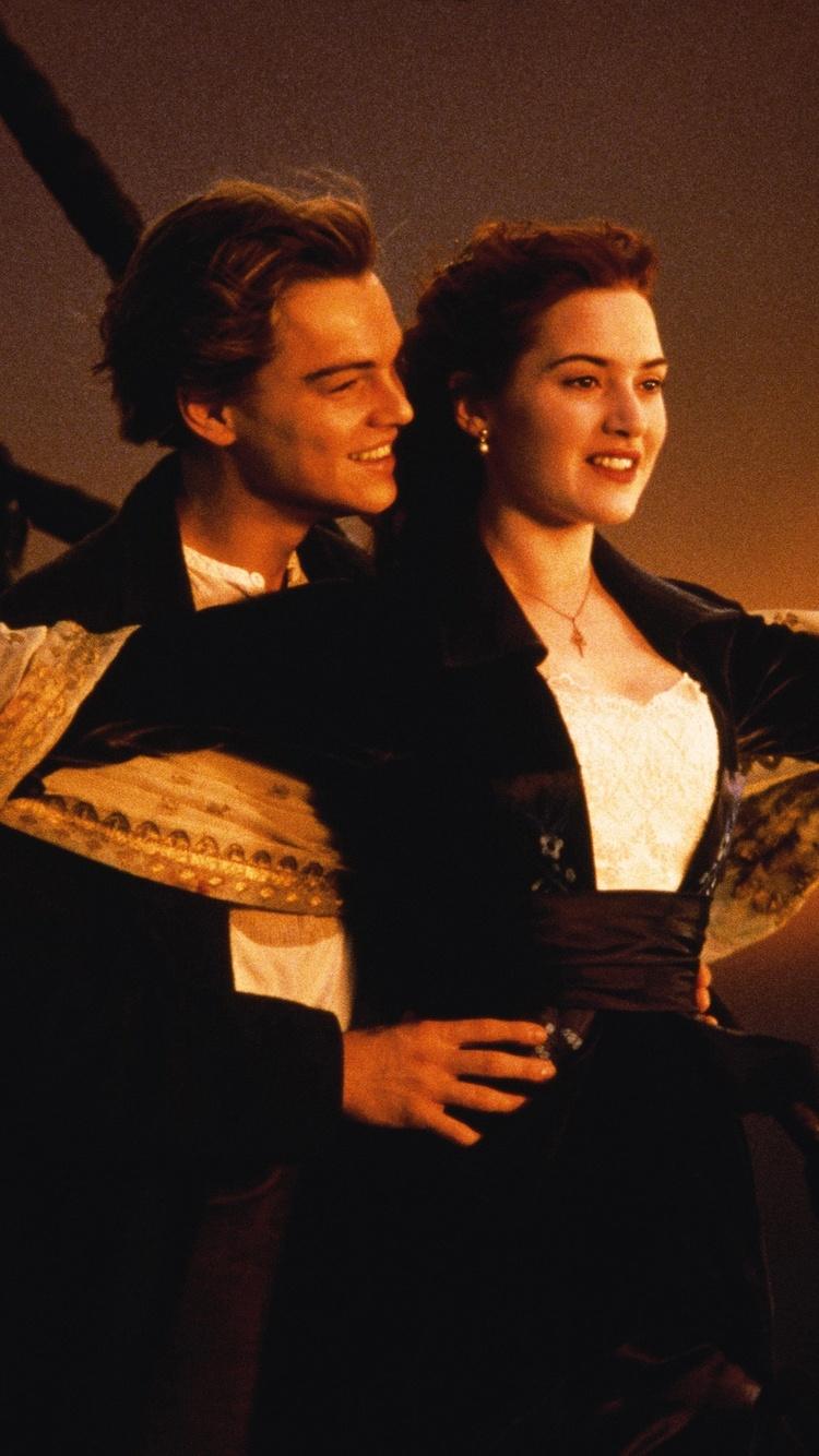 750x1334 Kate Winslet Leonardo Dicaprio In Titanic Iphone 6
