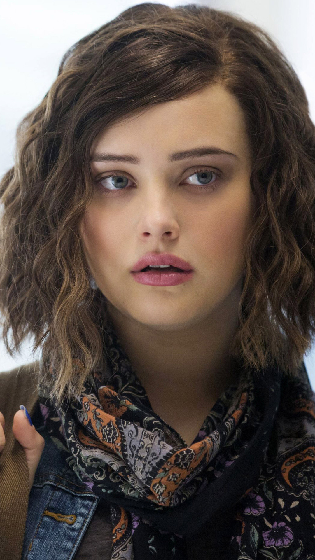 1080x1920 katherine langford as hannah in 13 reasons why iphone 7 6s 6 plus pixel xl one plus - 13 reasons why download ...